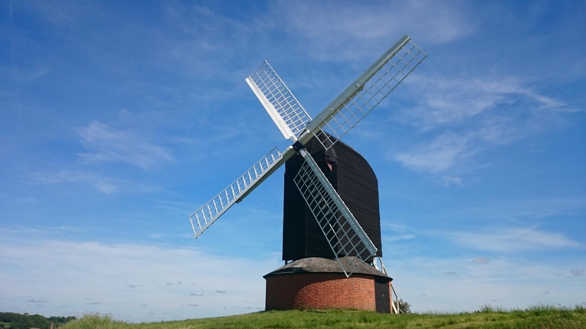 Brill Windmill  by Jon Brooke-Langham