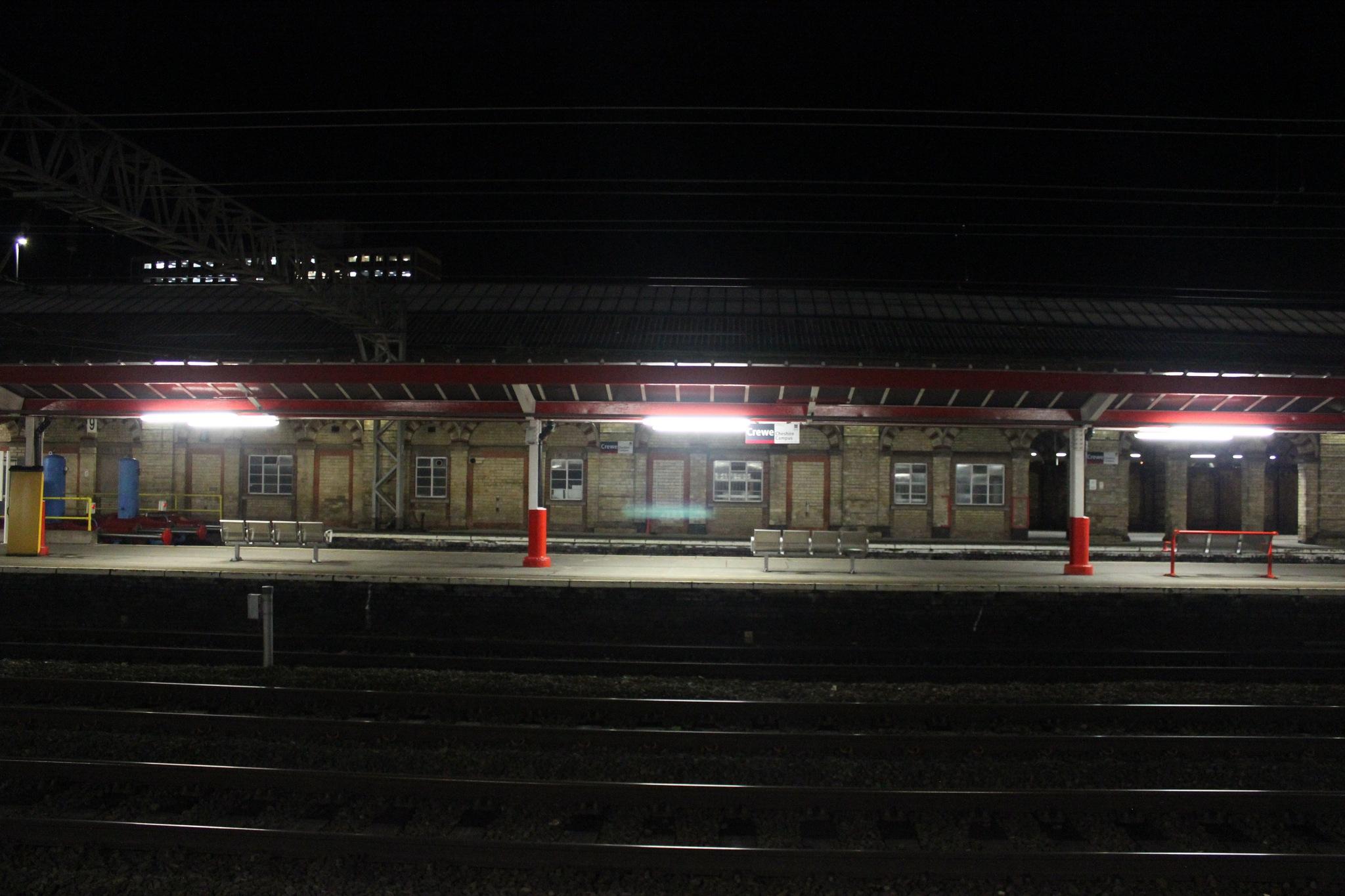 Night Station (2) by Jon Brooke-Langham