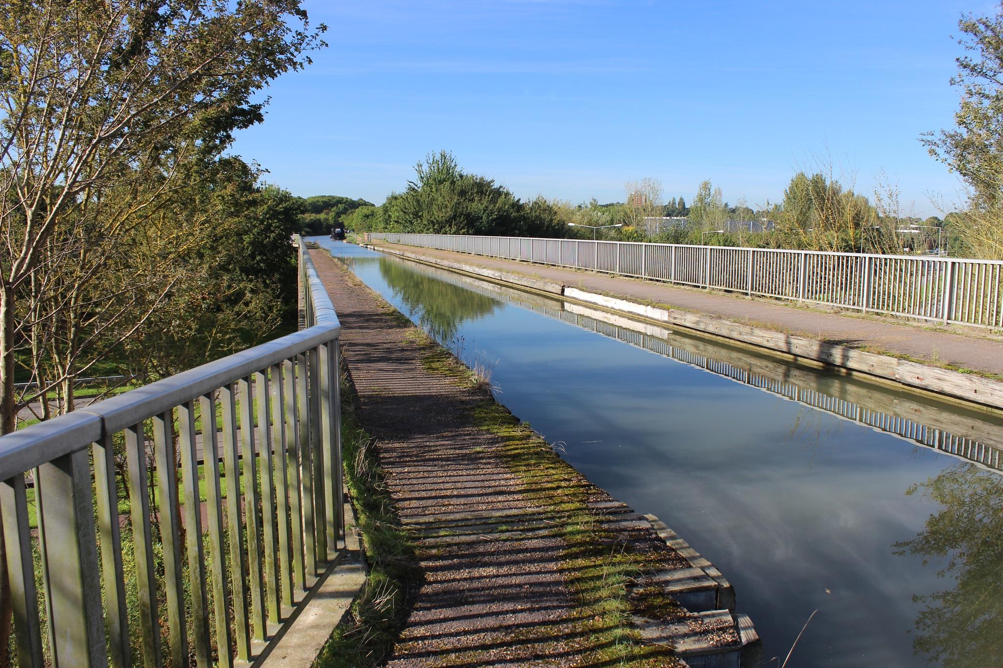 Modern Aqueduct (1) by Jon Brooke-Langham