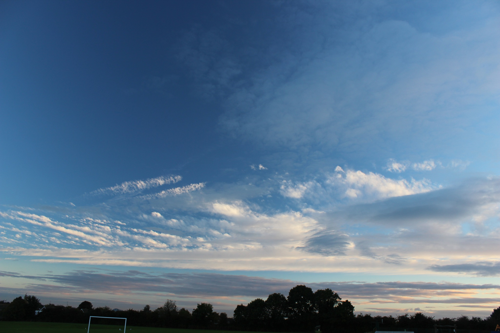 Clouds over Goals (2) by Jon Brooke-Langham