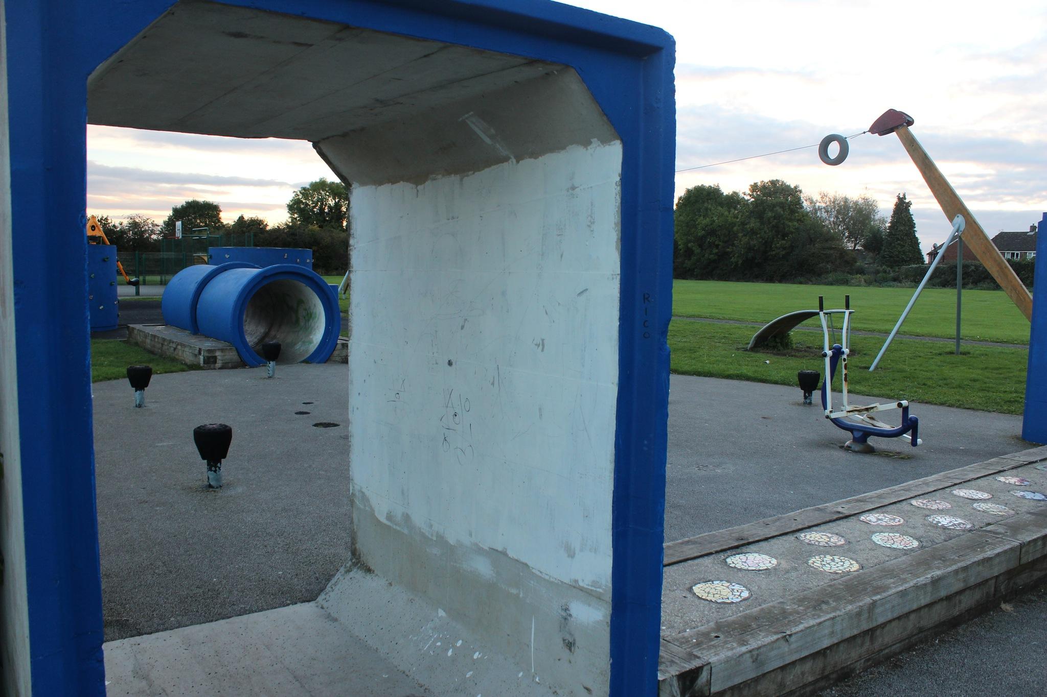 Early Morning Playground (2) by Jon Brooke-Langham