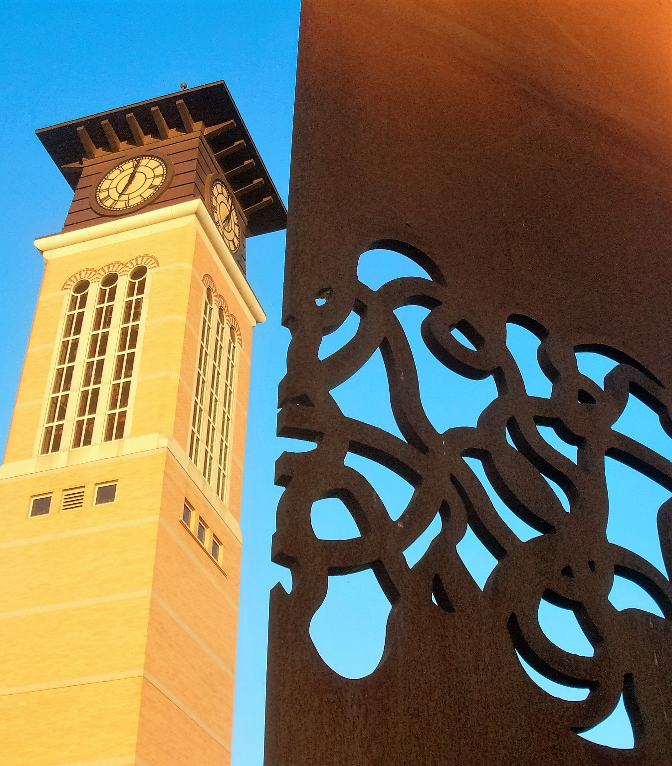 Campus Clock Tower by Zebb