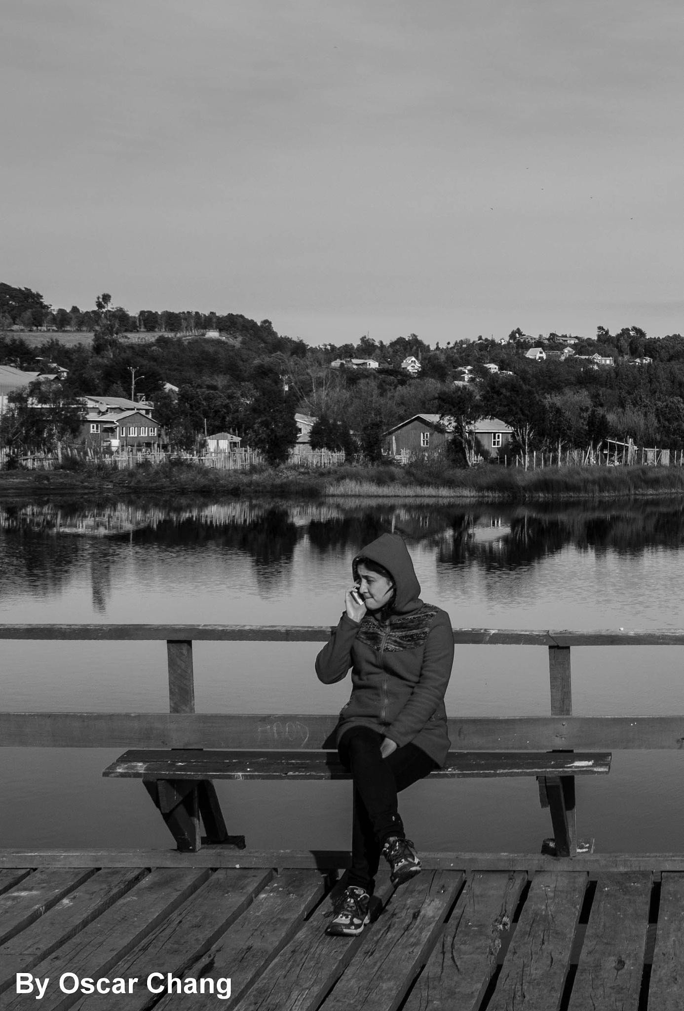 Lago Huillinco by Oscar Chang