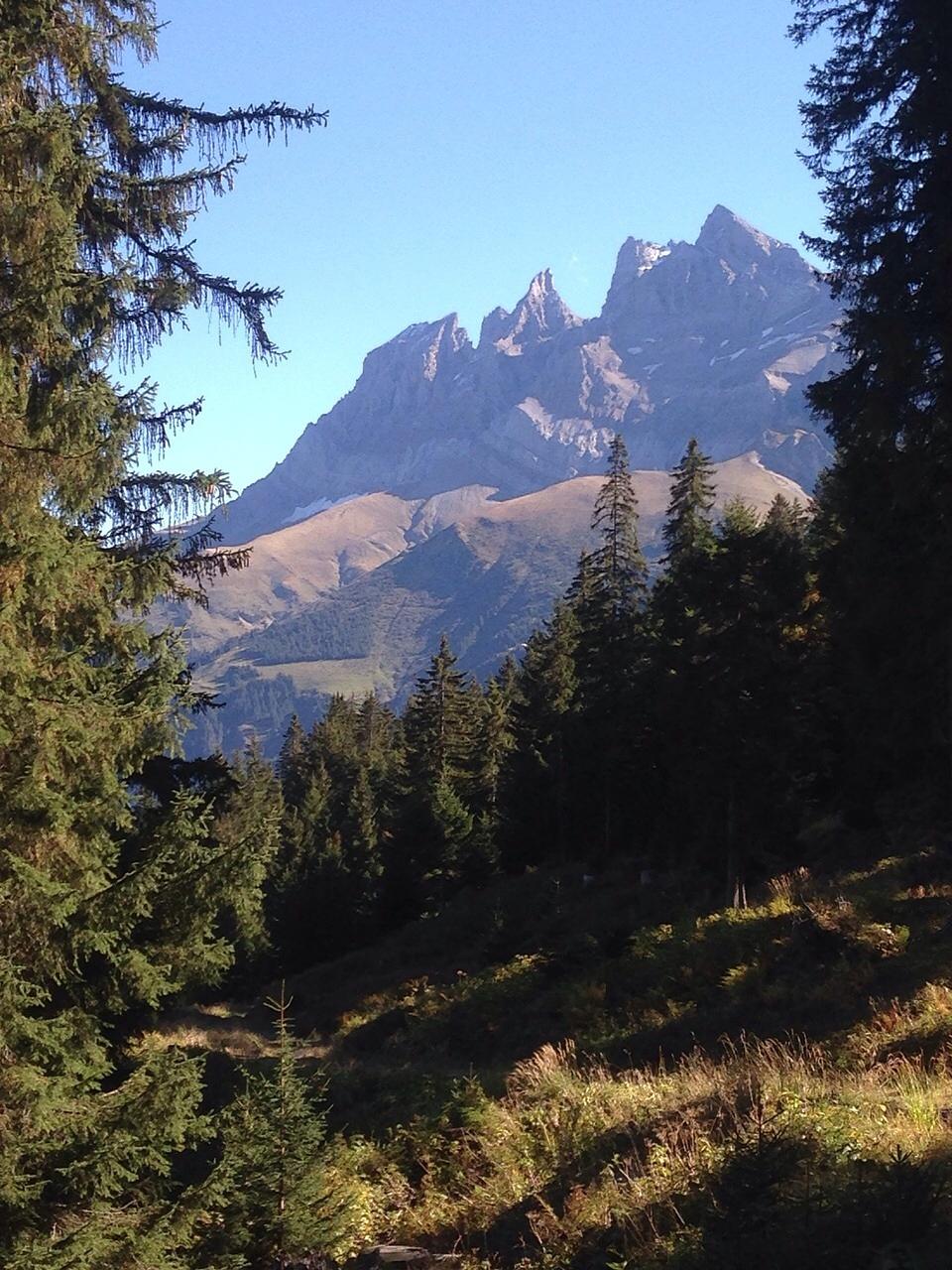 Les Dents du Midi - Montagnes by AnneDominique