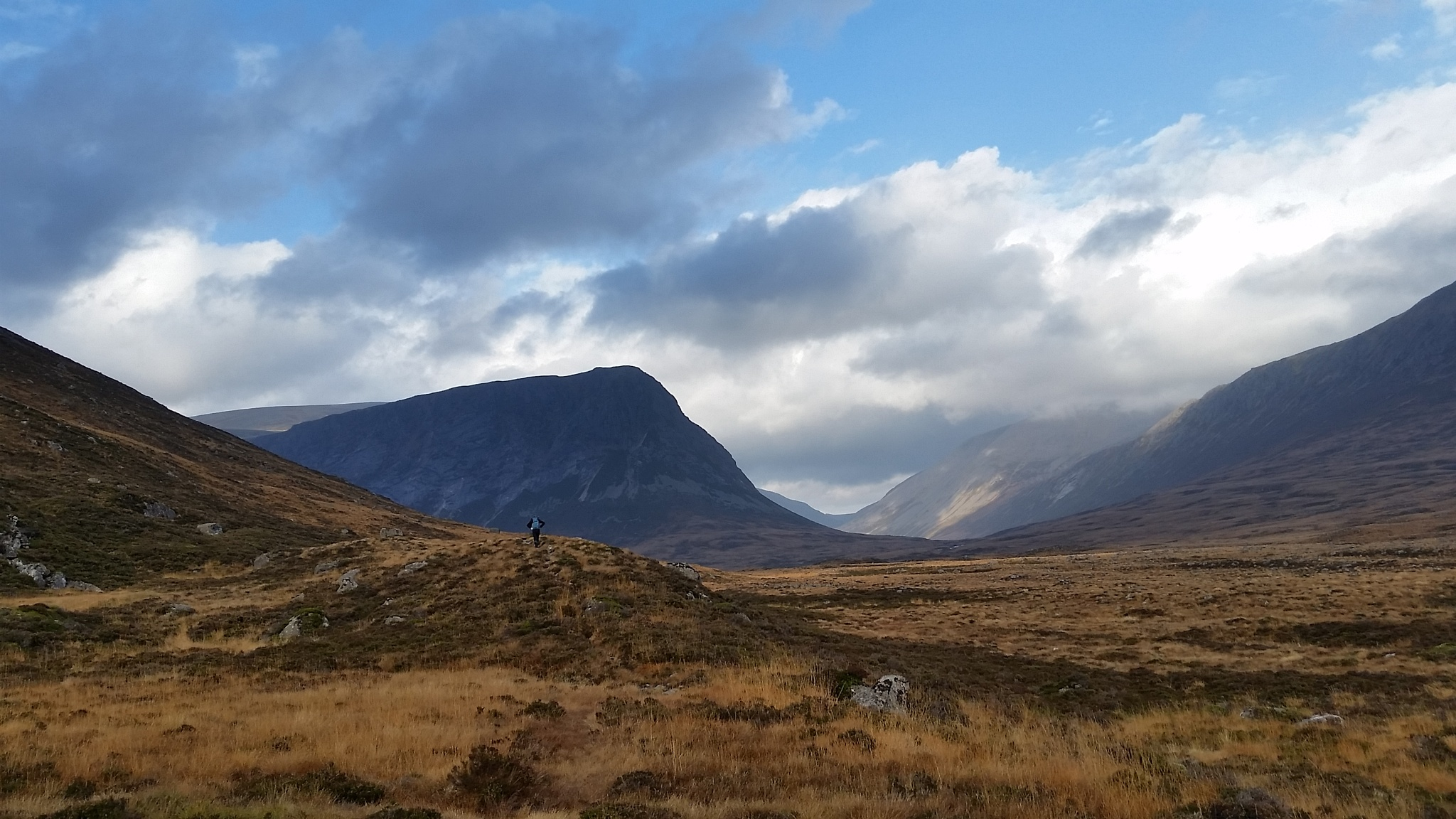 Glen Dee and the Devil's Point  by PaulAnderson