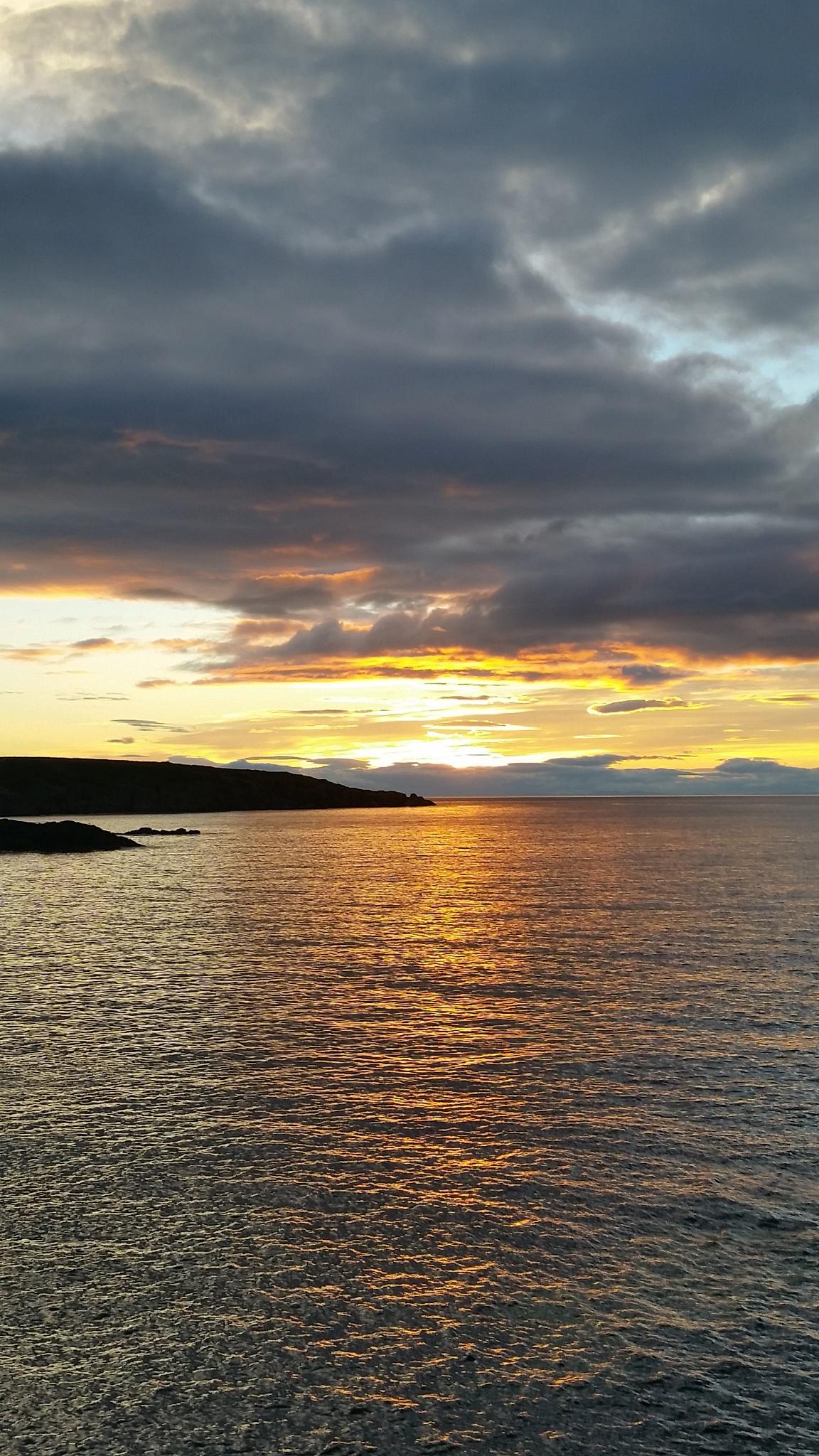 Portsoy sunset  by PaulAnderson