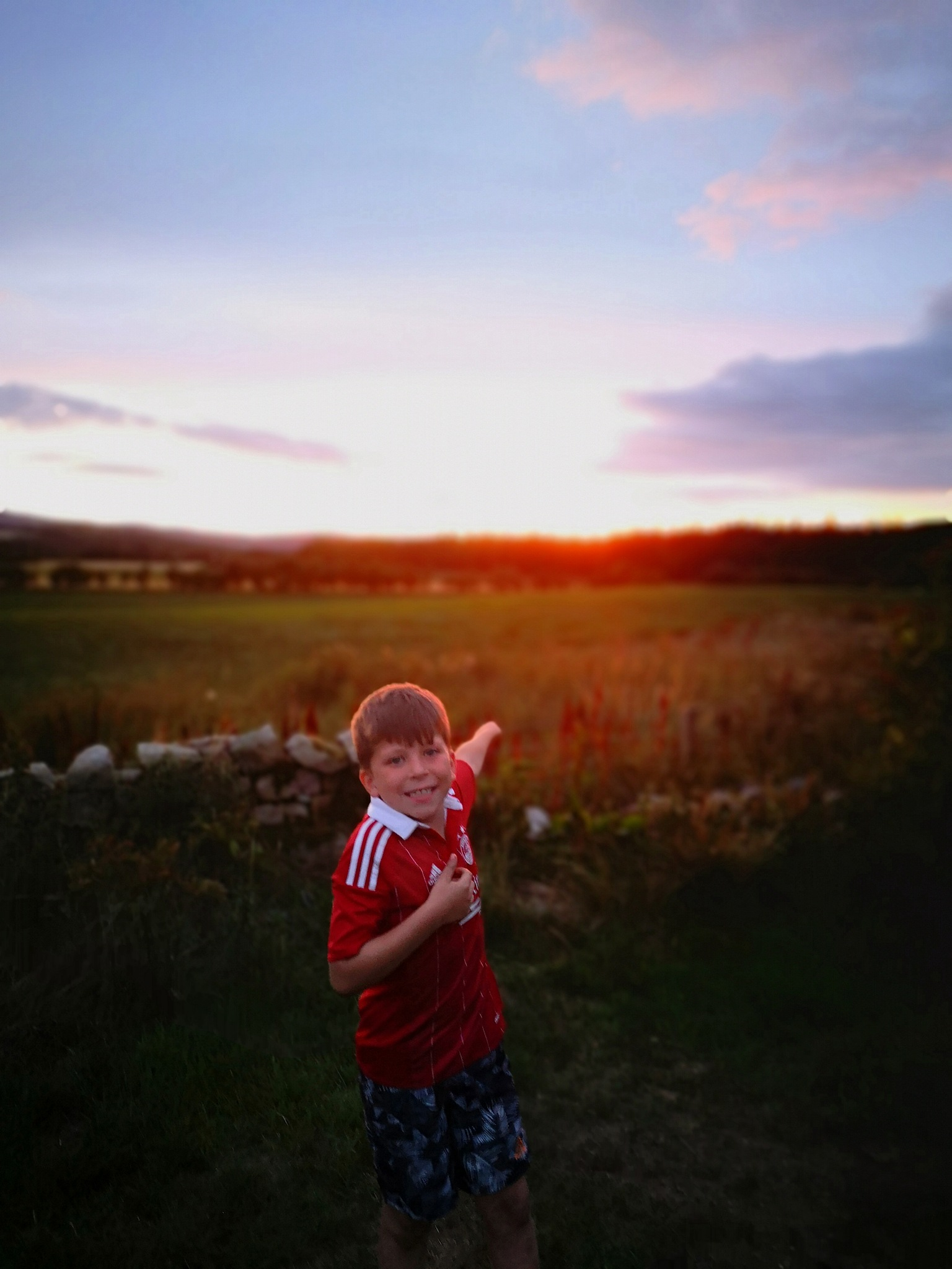 The joy of the setting sun by PaulAnderson