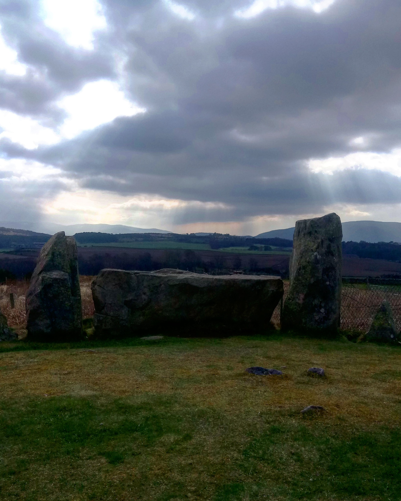 Tomnaverie Stone Circle near Tarland in Aberdeenshire  by PaulAnderson