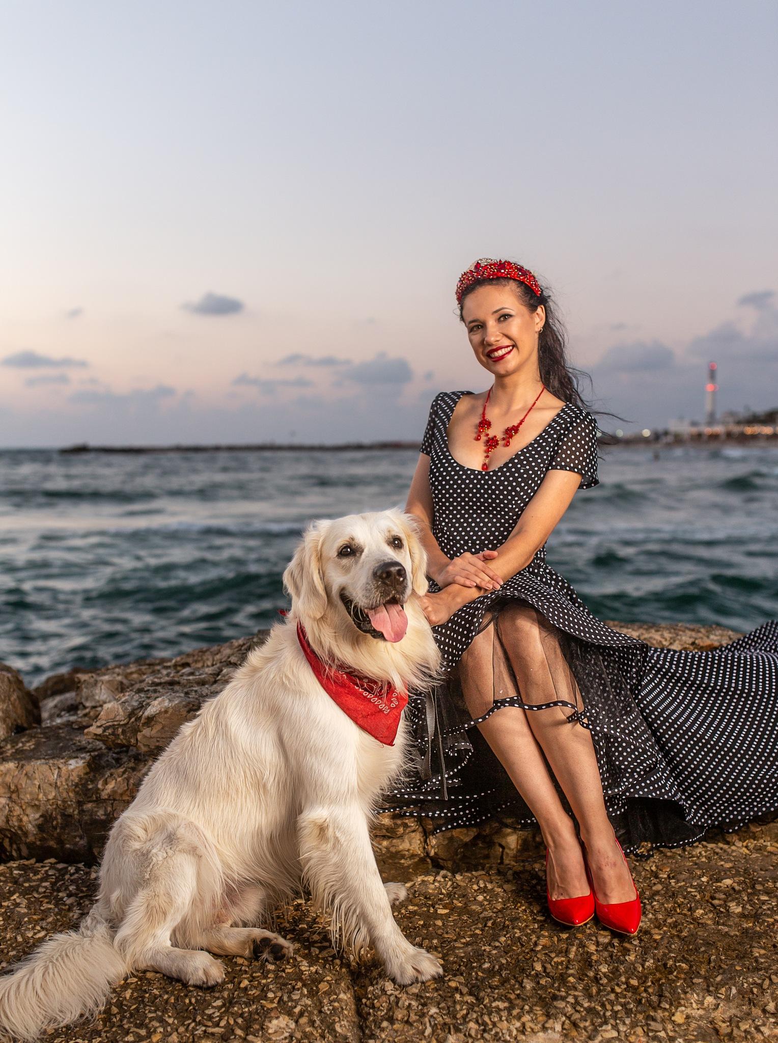 Woman's best friend by Selby