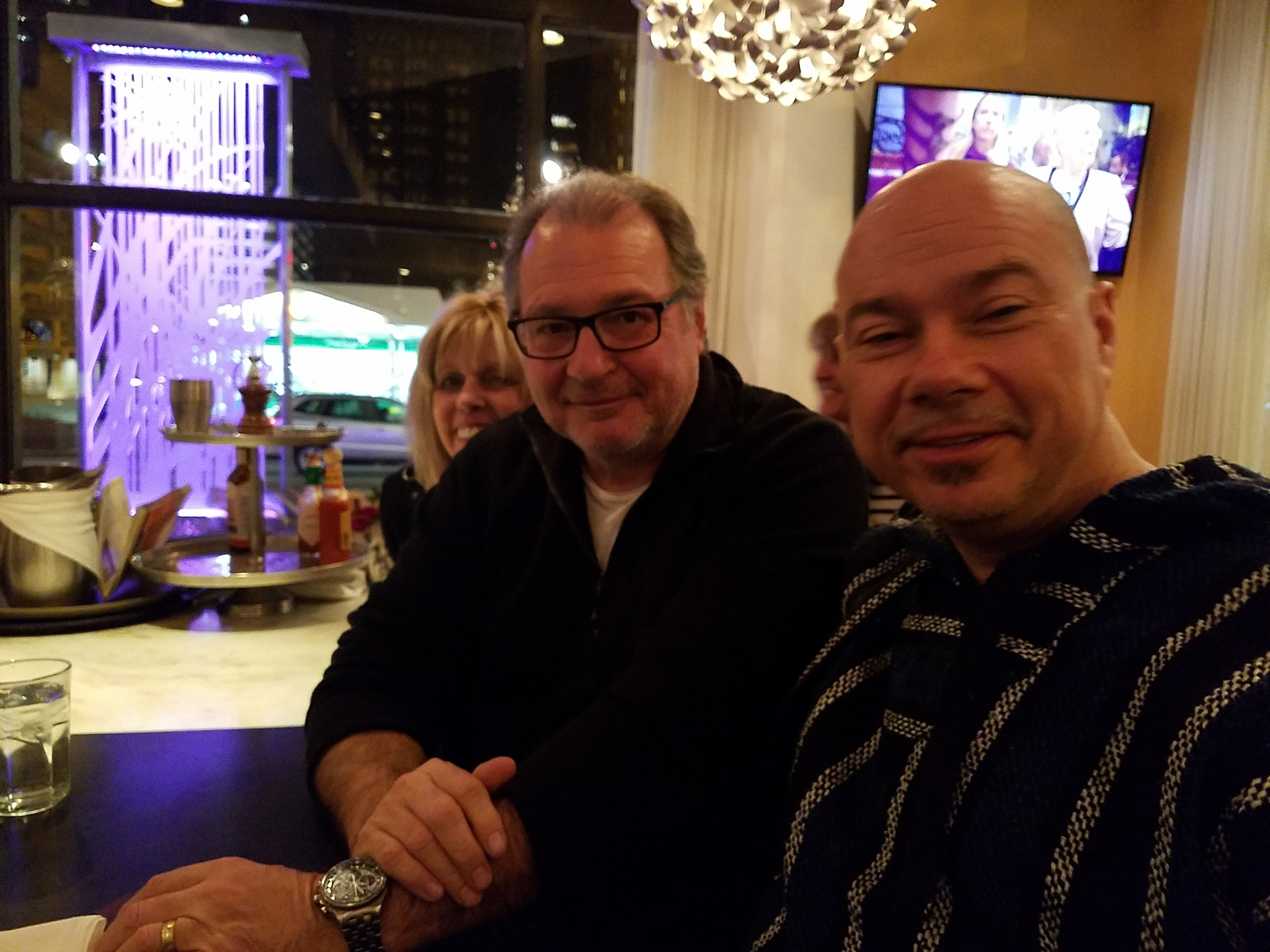 Meeting Kevin Dunn at Meli's on S Dearborn by Brian Murray