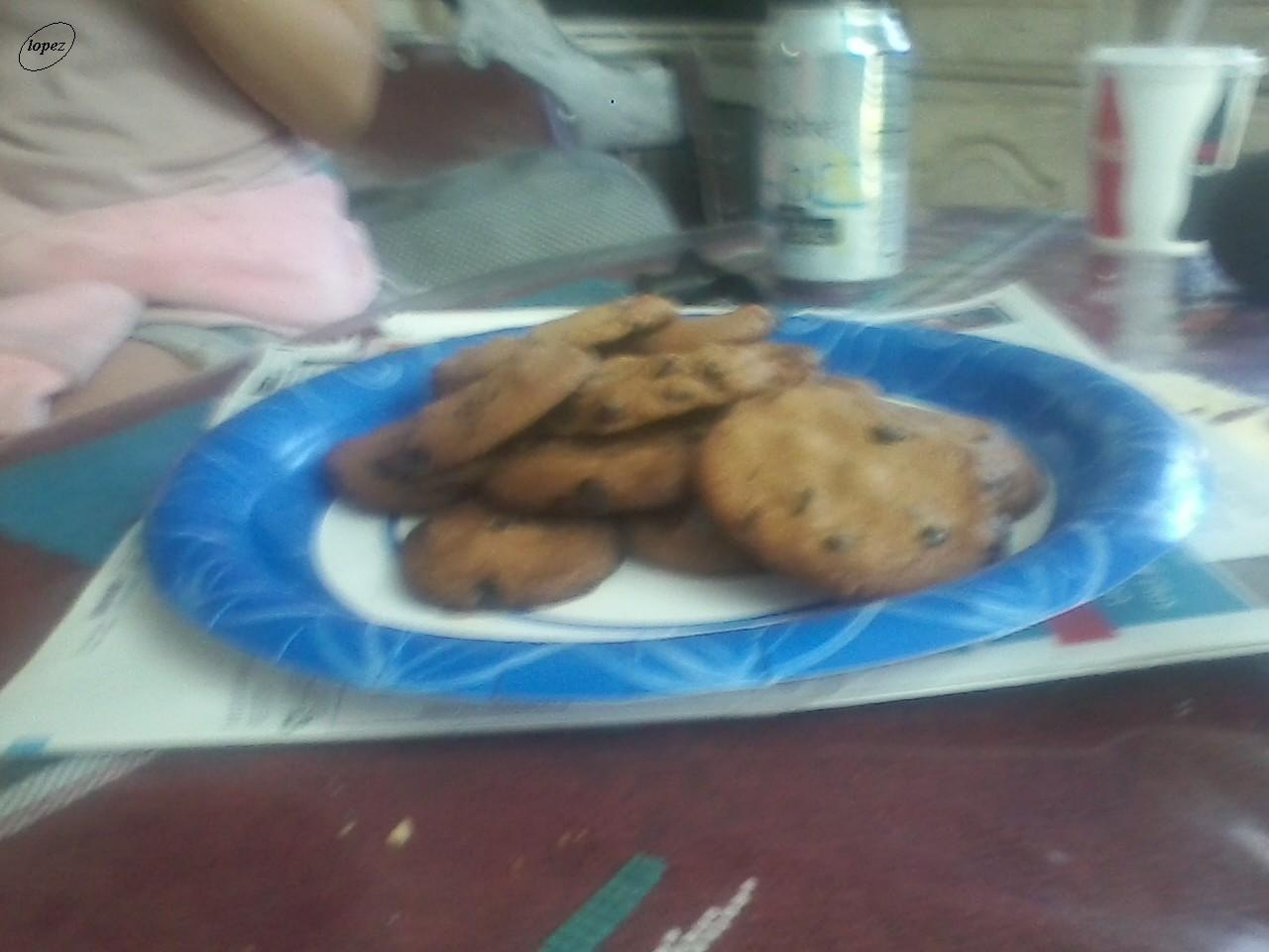 Chocolate Chip Cookies at home 1 by Francisco Lopez
