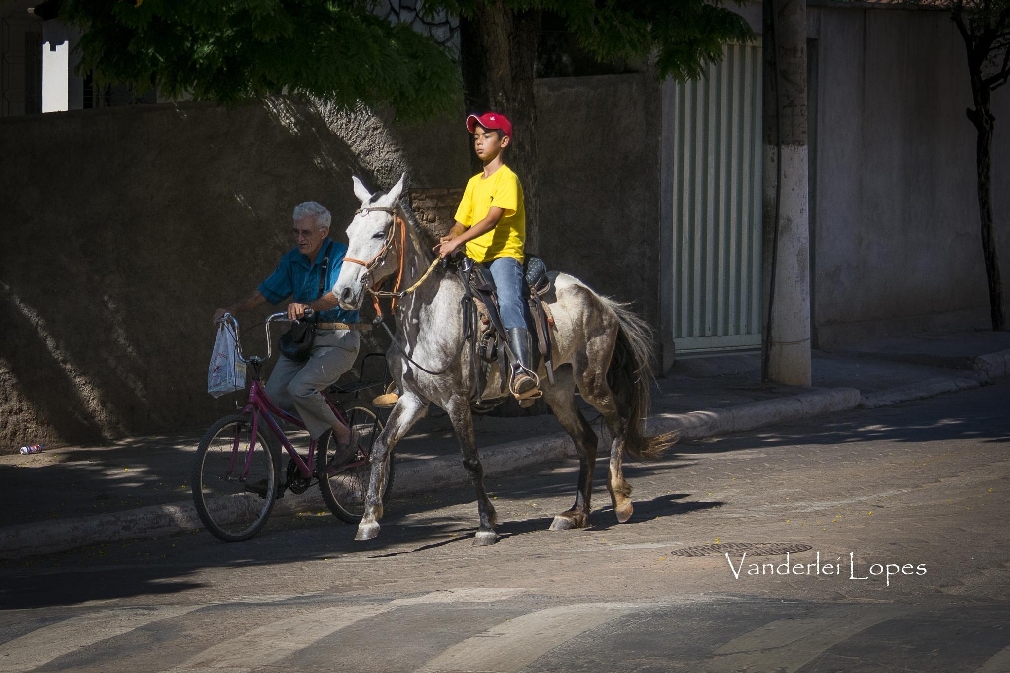 Meios de transporte. by Vanderlei Lopes