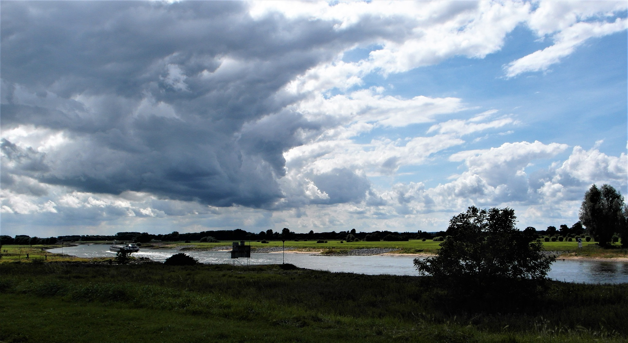 Zutphen The Netherlands, the river IJssel near our house. by Ber te Mebel
