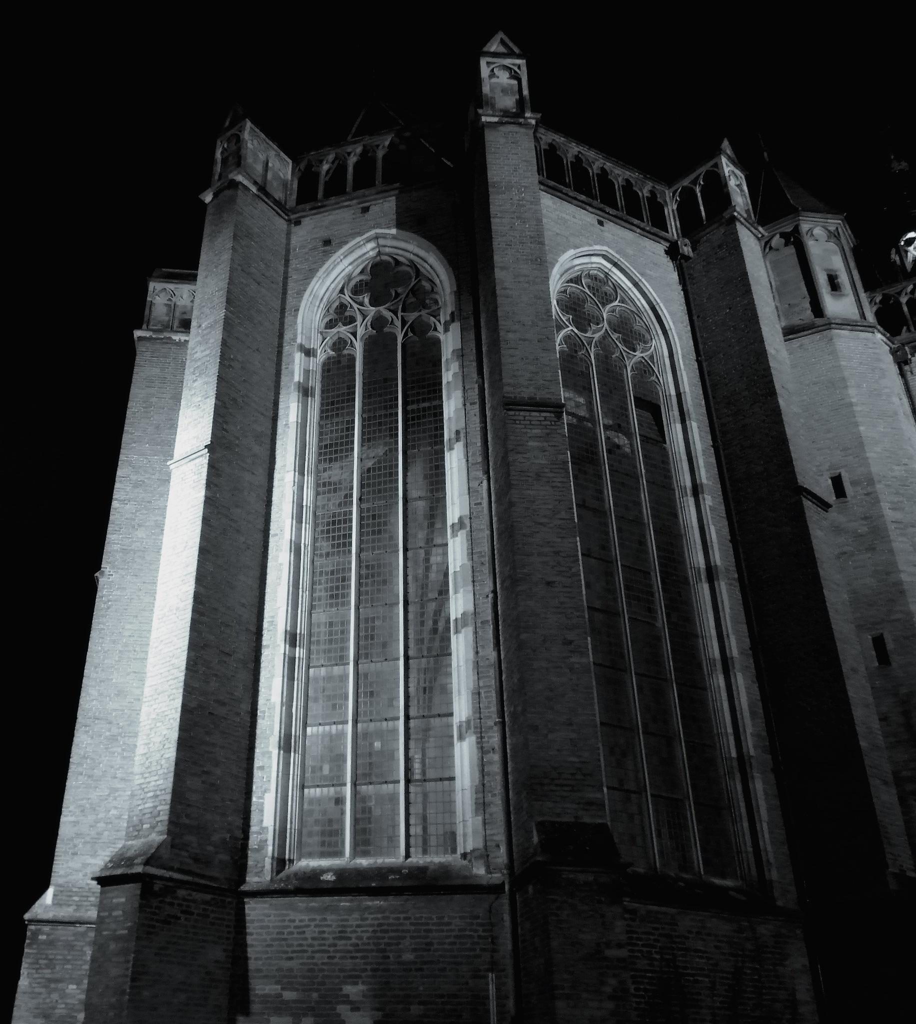 St. Walburgischurch Zutphen The Netherlands by Ber te Mebel