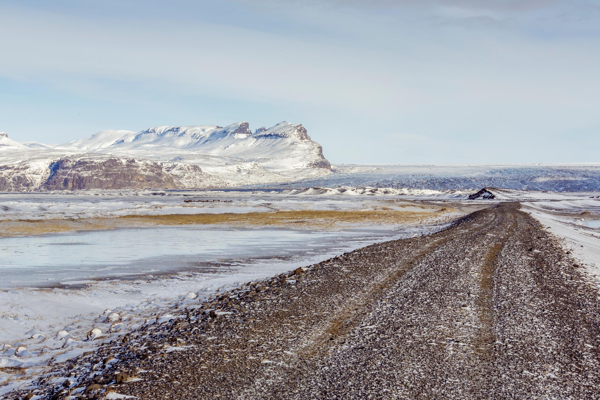 A Estrada de Gelo -the ice's  road by JoseSenna
