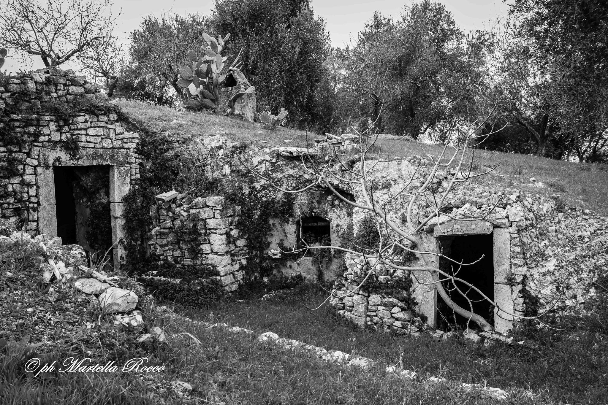 house set in a Cave by PhotoM.R.60D