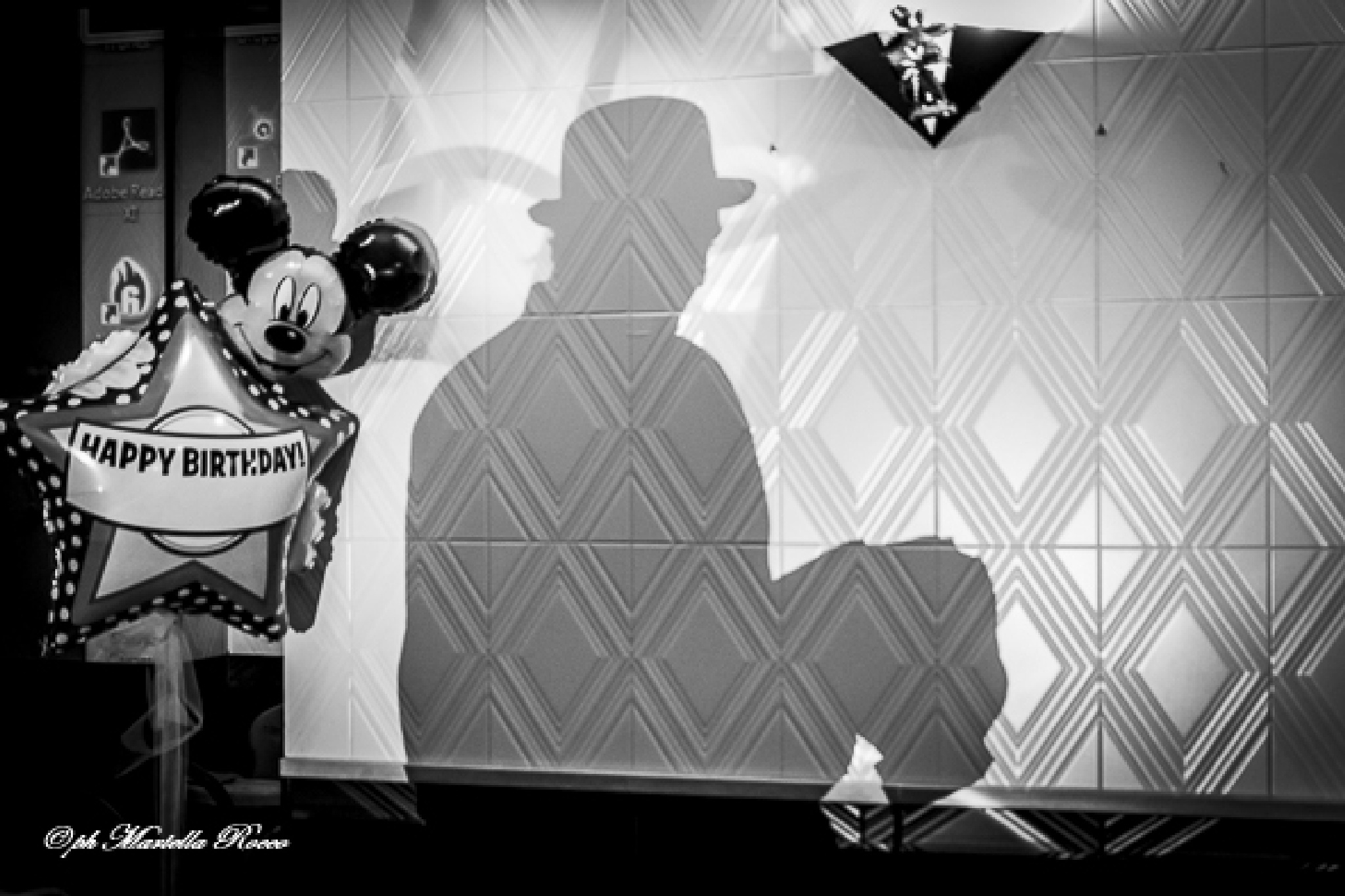 Photo in Black and White #the thin man