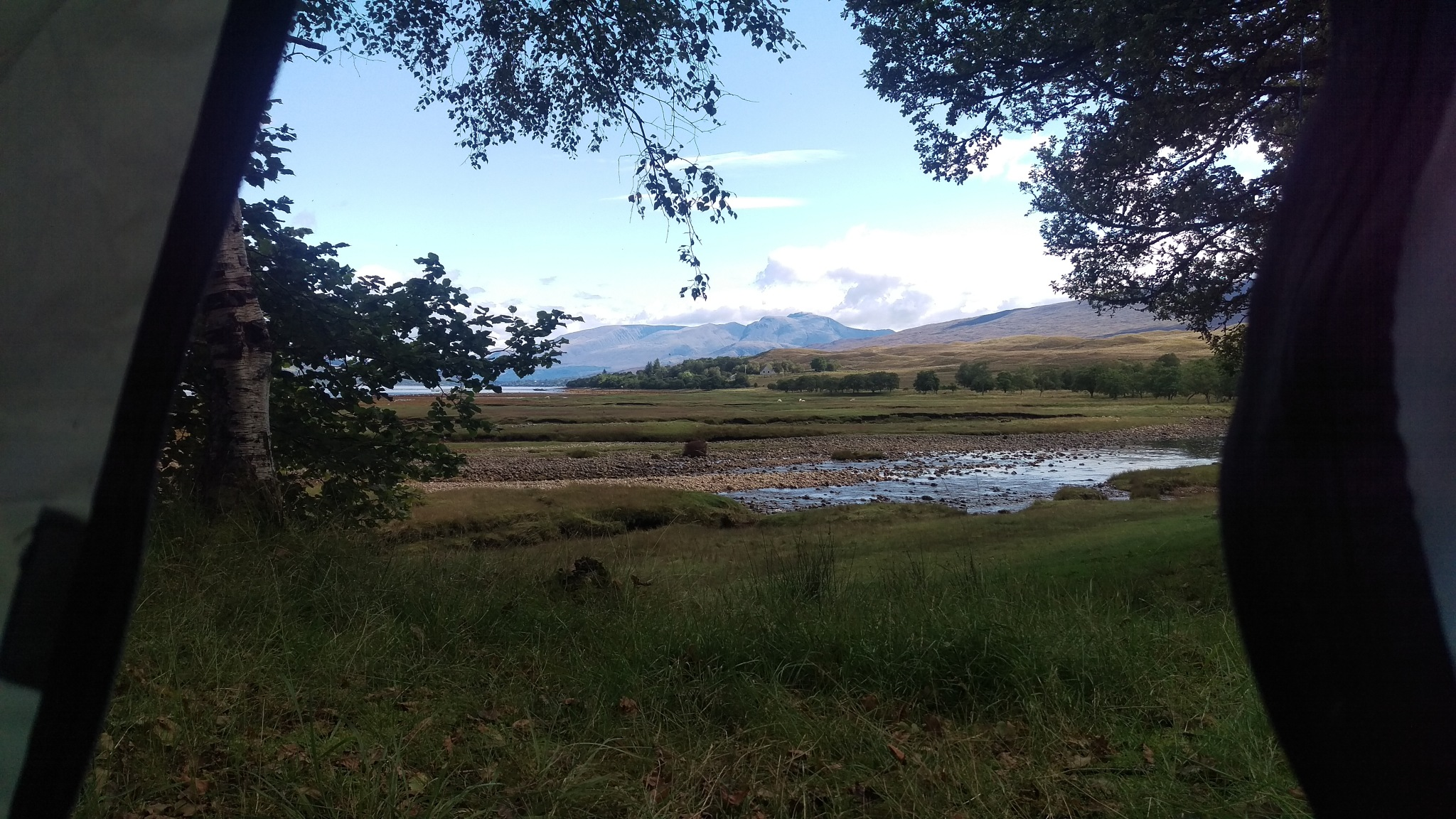 Wild Camp View (Ban Nevis) by Charlie Rose