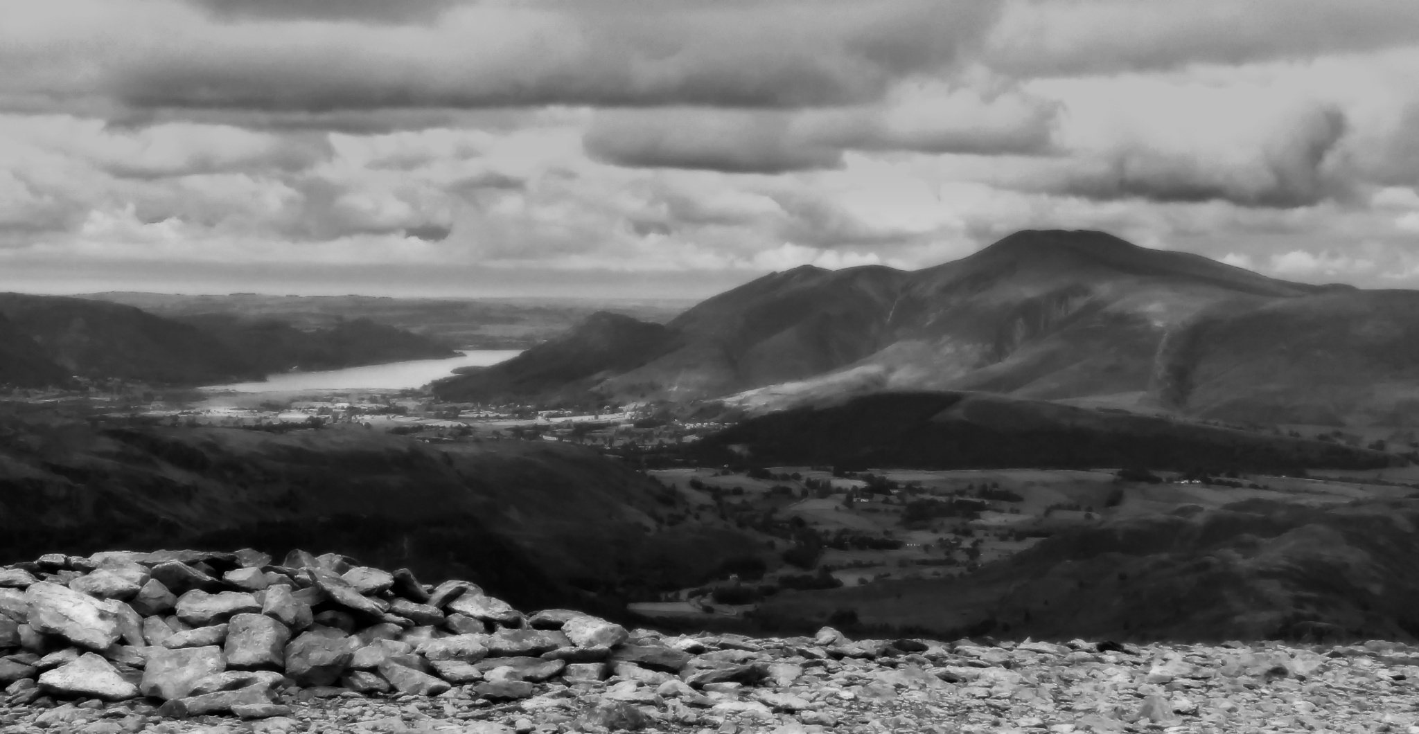 Skiddaw over Bassenthwaite Lake by Charlie Rose