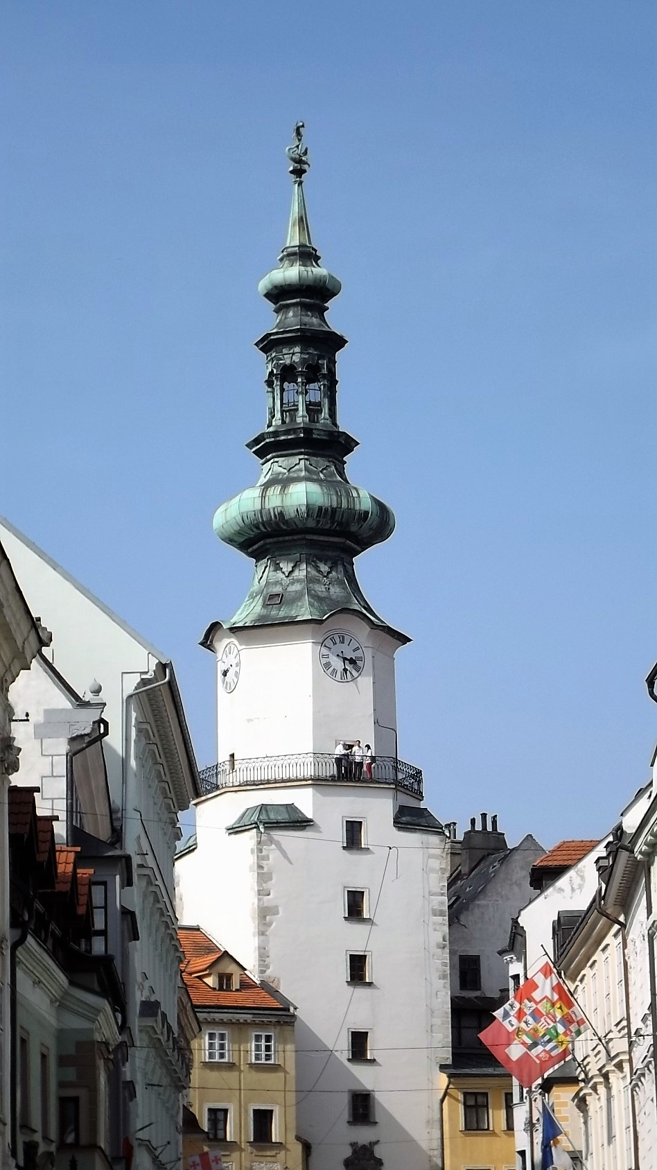 The exact time in Bratislava by Sindbad Traveller