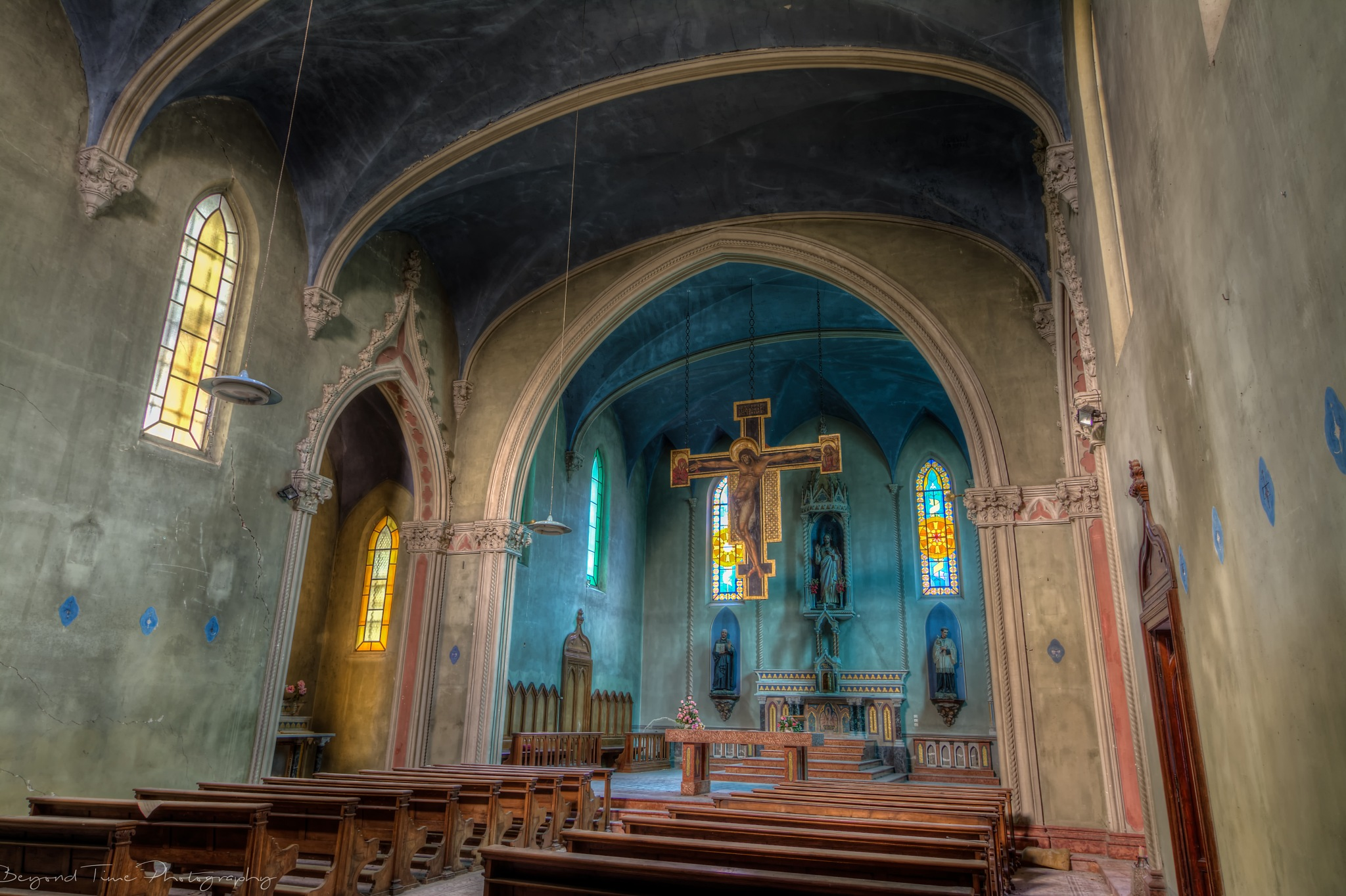 The Blue Chapel by Alida Bleeker