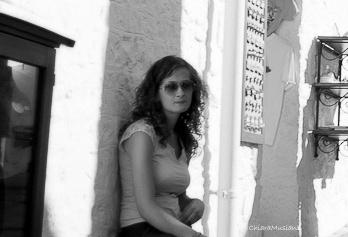 Lady resting in Alberobello  by musianichiara