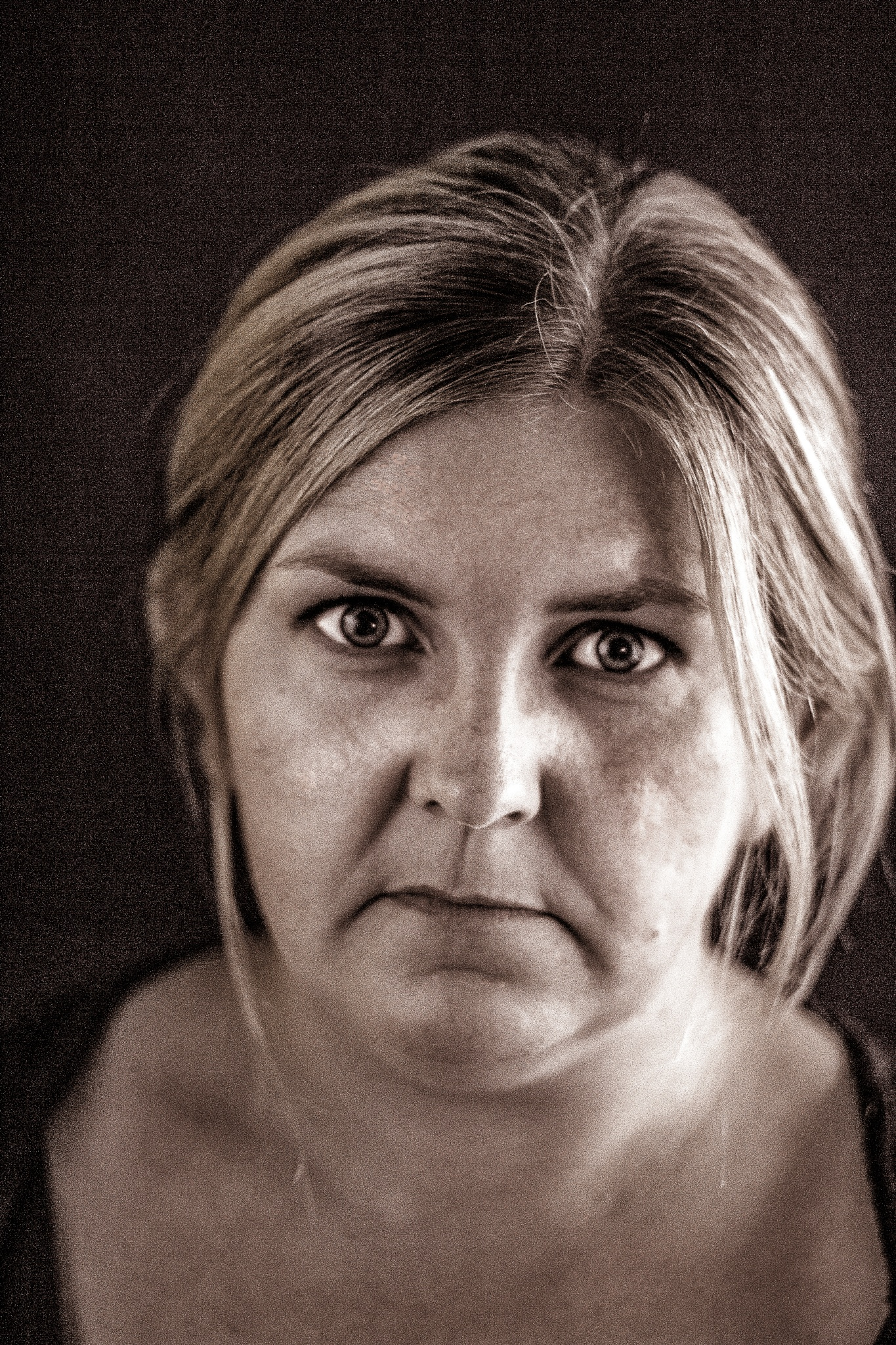 Photo in Random #woman #sad #girl #crying #old #worn #portrait