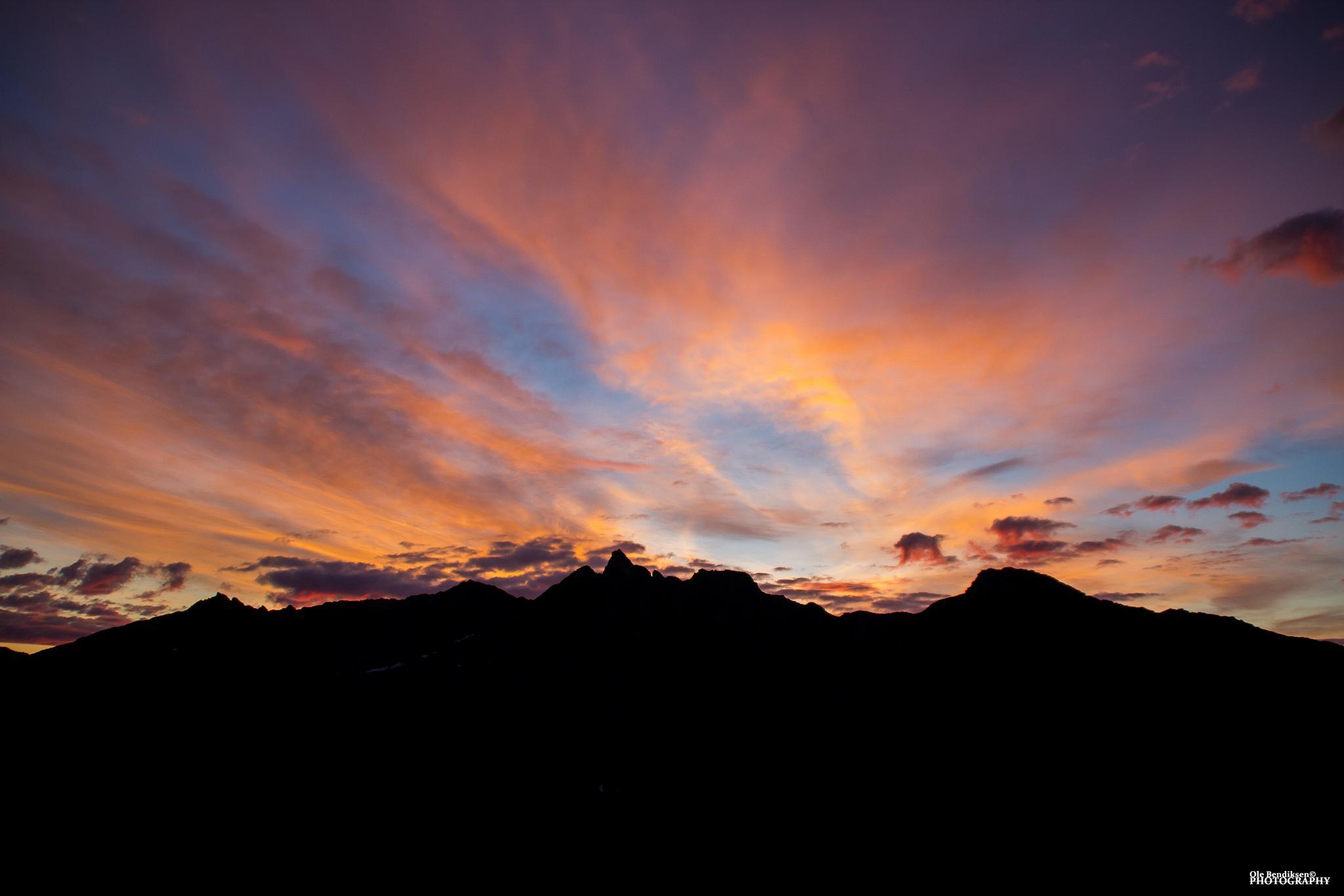 Last of the midnight sun by OleBendiksen