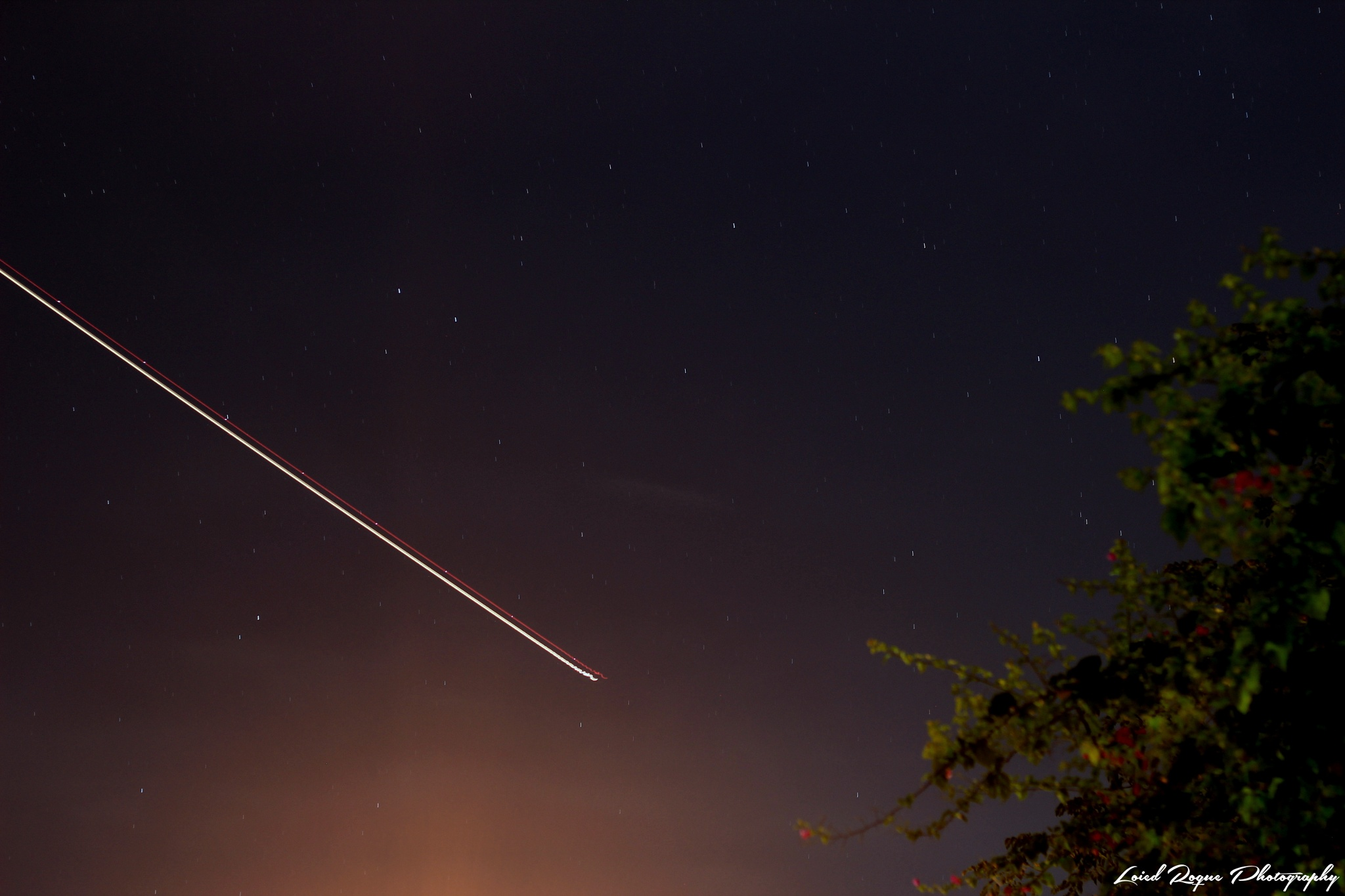 Night Photography. That line (Airplane long exposure). Dec 24, 2015 by Loied Roque