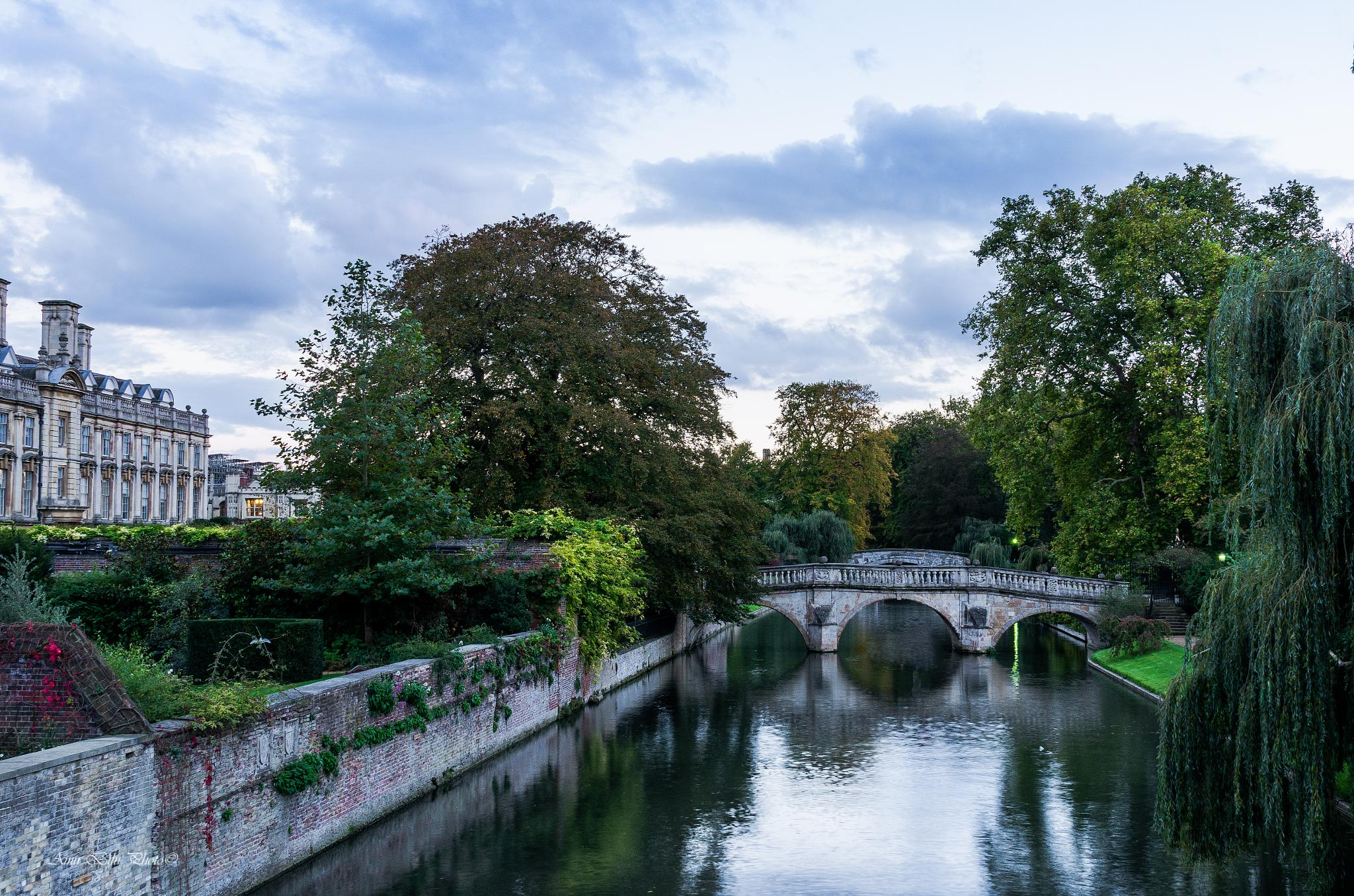 Cambridge England by Amir Bilu