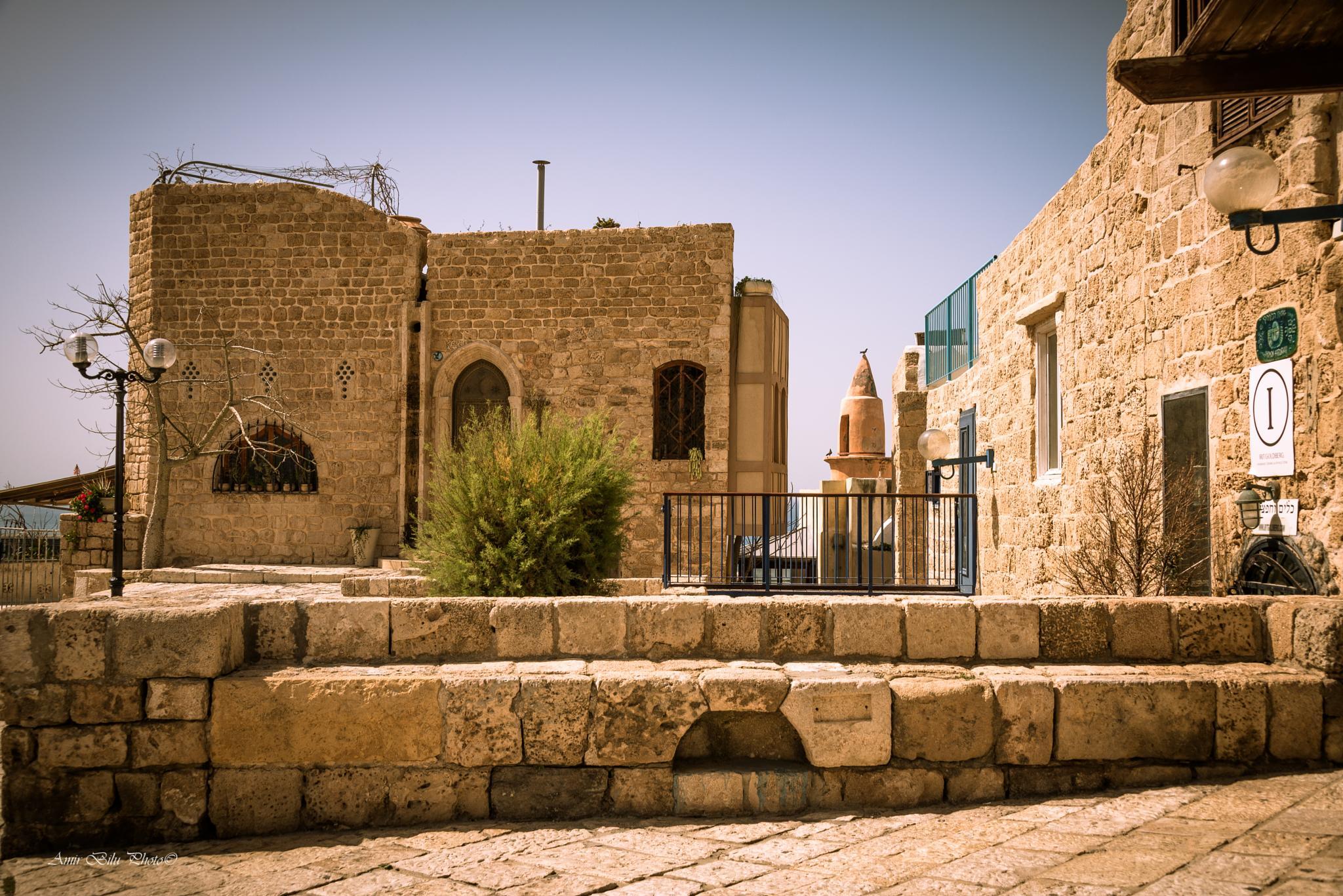 Old Jaffa by Amir Bilu