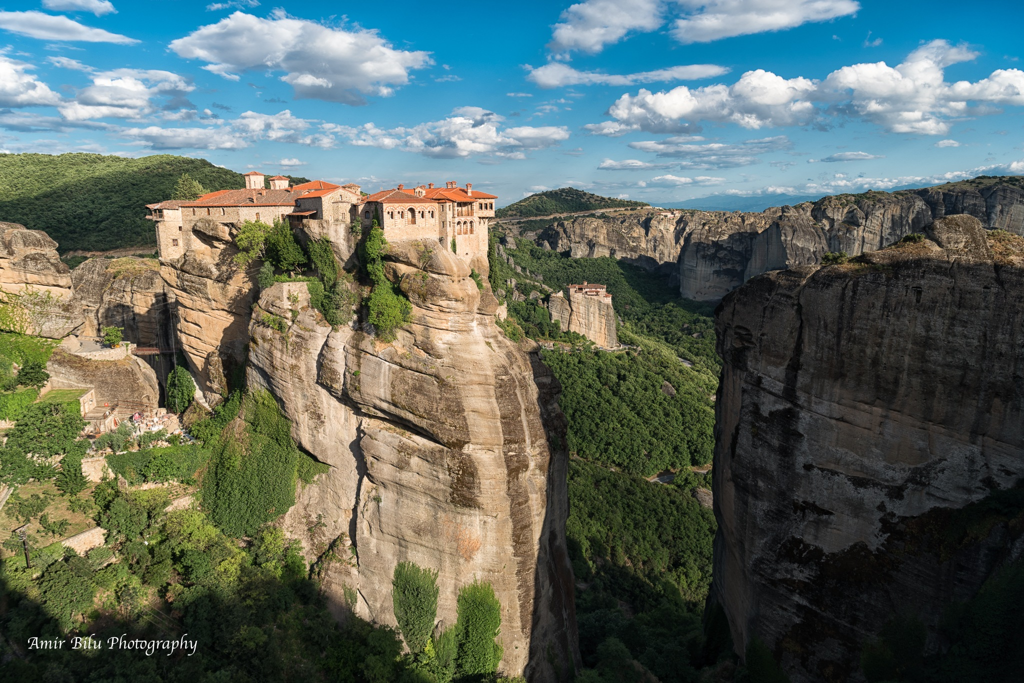 Meteora Greece by Amir Bilu