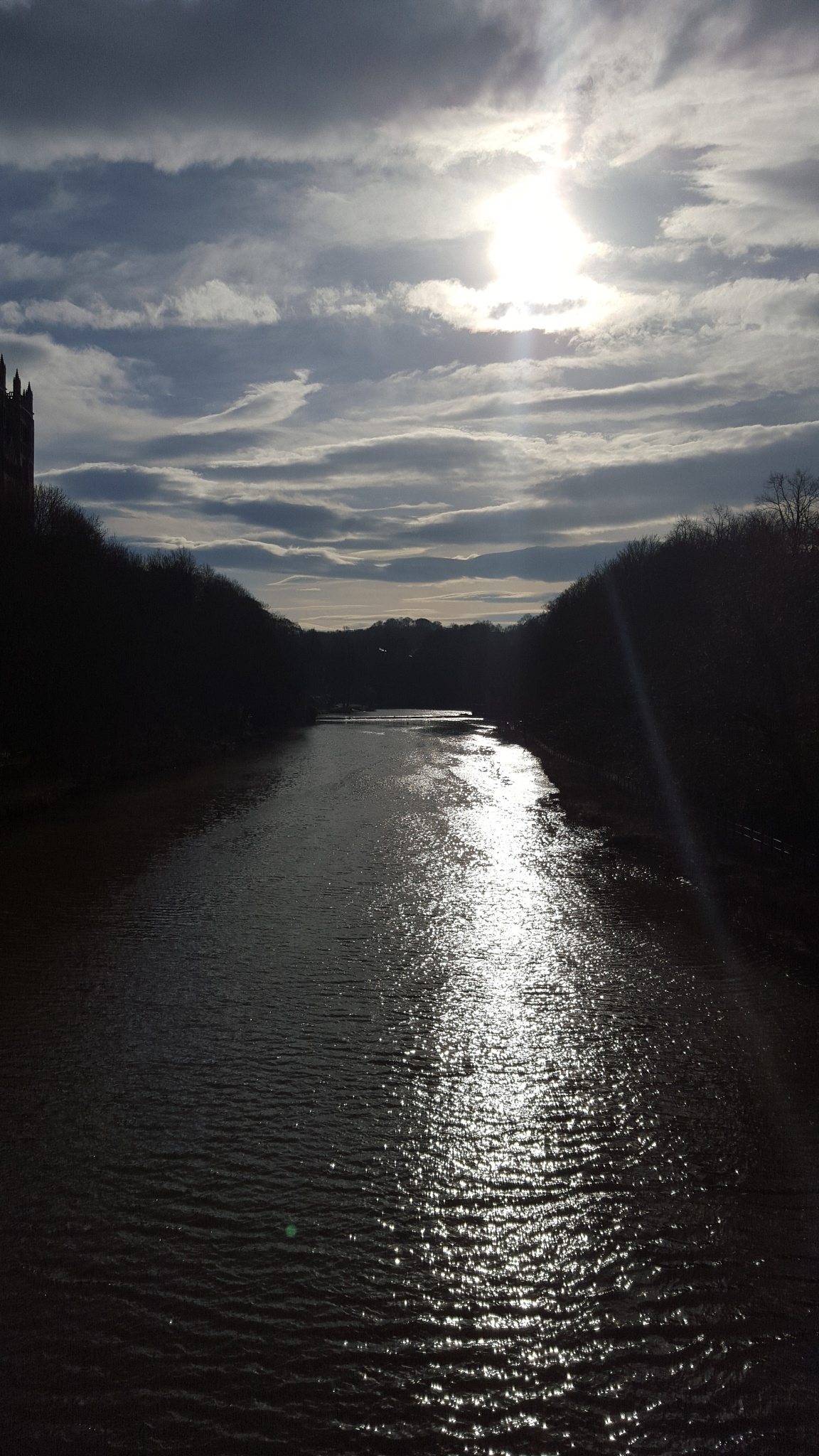 Early evening, River Wear, Durham by Champs