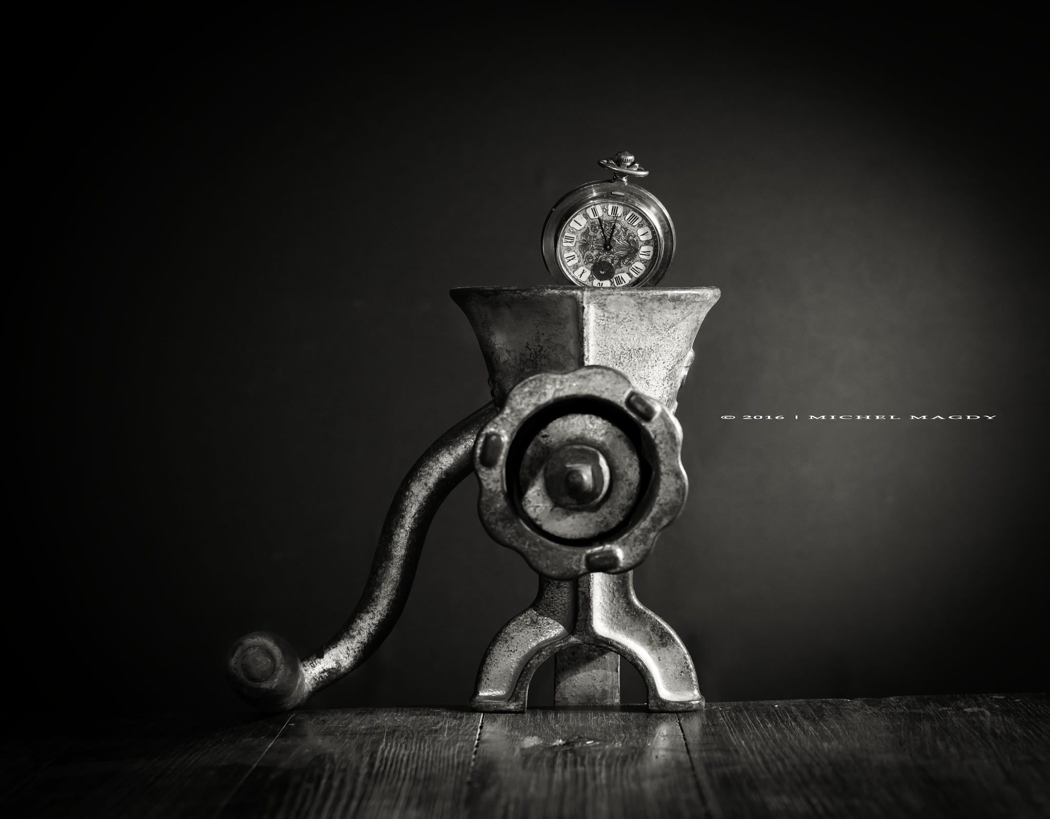 Time goes fast by Michel Magdy