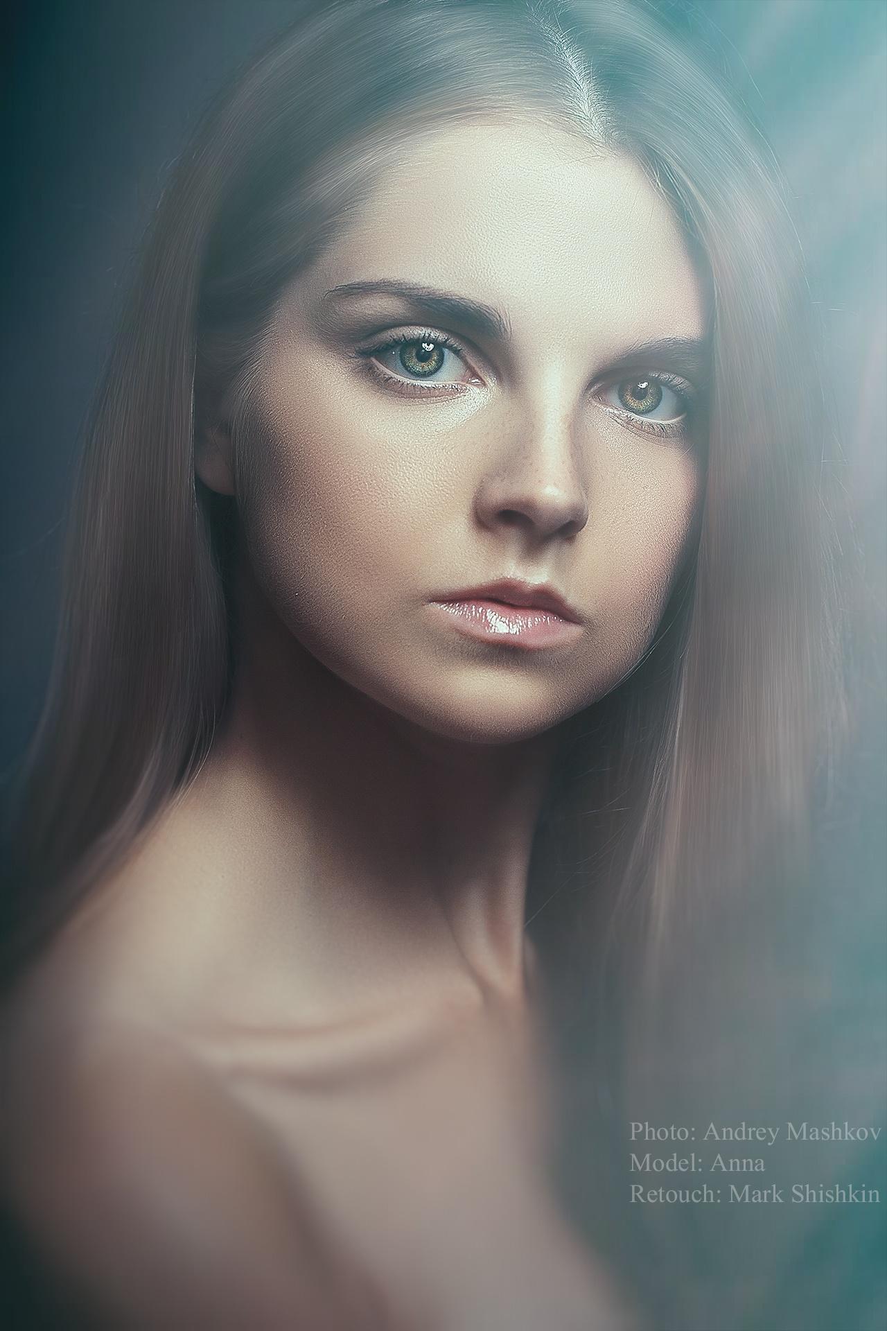 Photo in Portrait #portrait #girl #beauty #eyes #studio #glamour #light #fashion #female #photooftheday #retouch #hair #face #model #pretty #beautiful