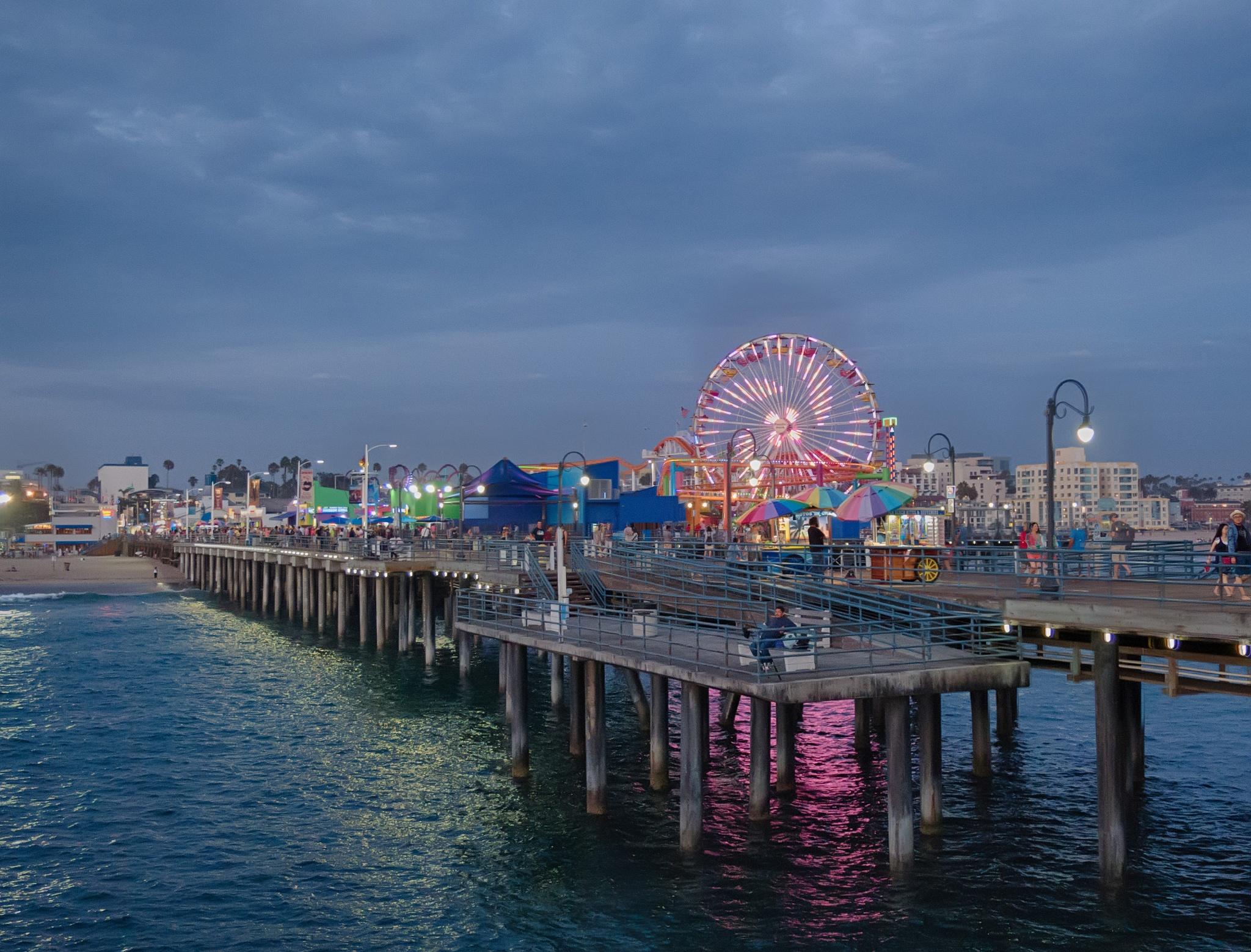 Santa Monica Pier by jorger101