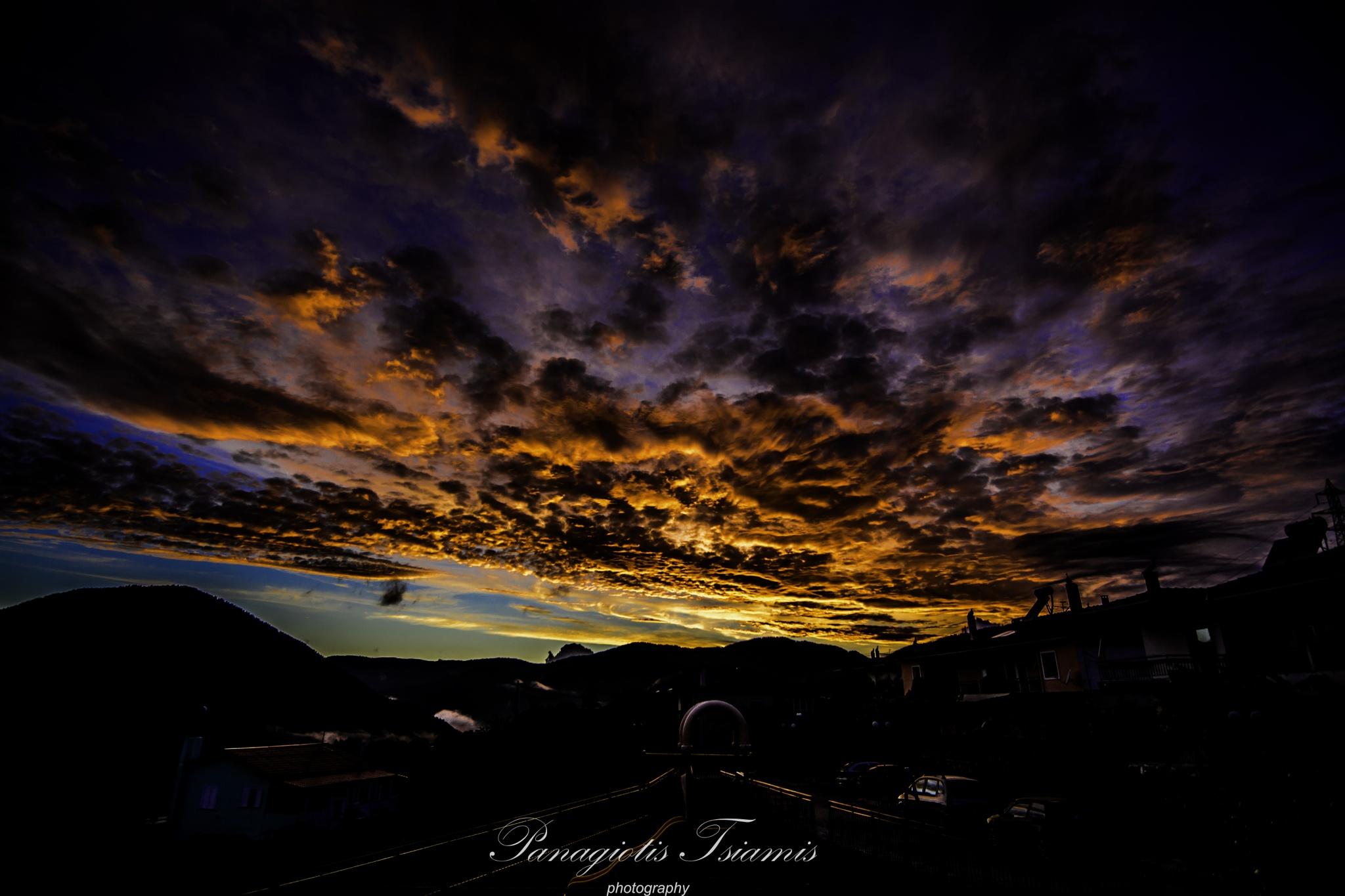 sunset by pan_ts