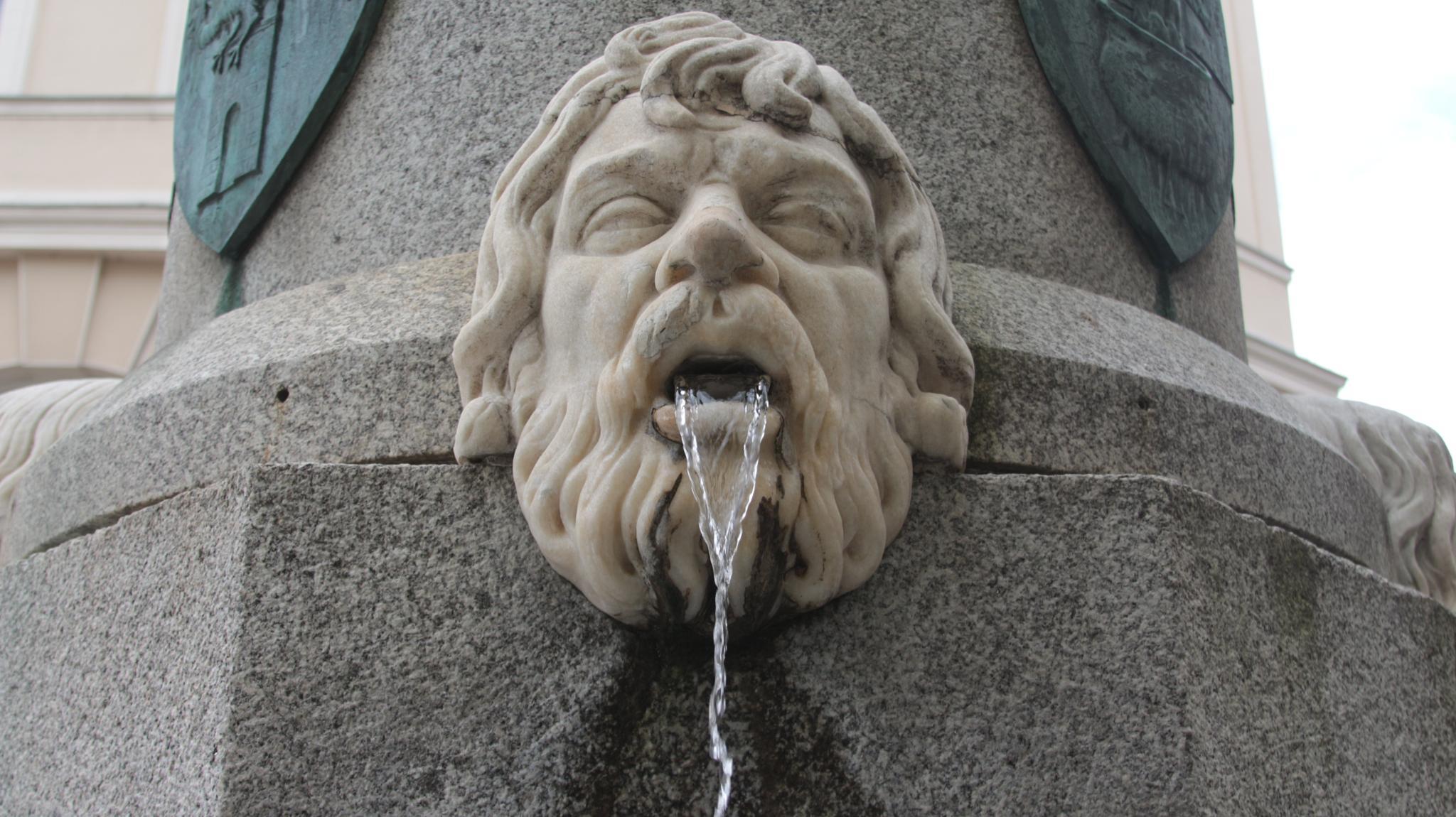 Klagenfurt, monumento dedicato al fondatore della città, Herzog Bernhard von Spanheim (particolare) by meiferdinando
