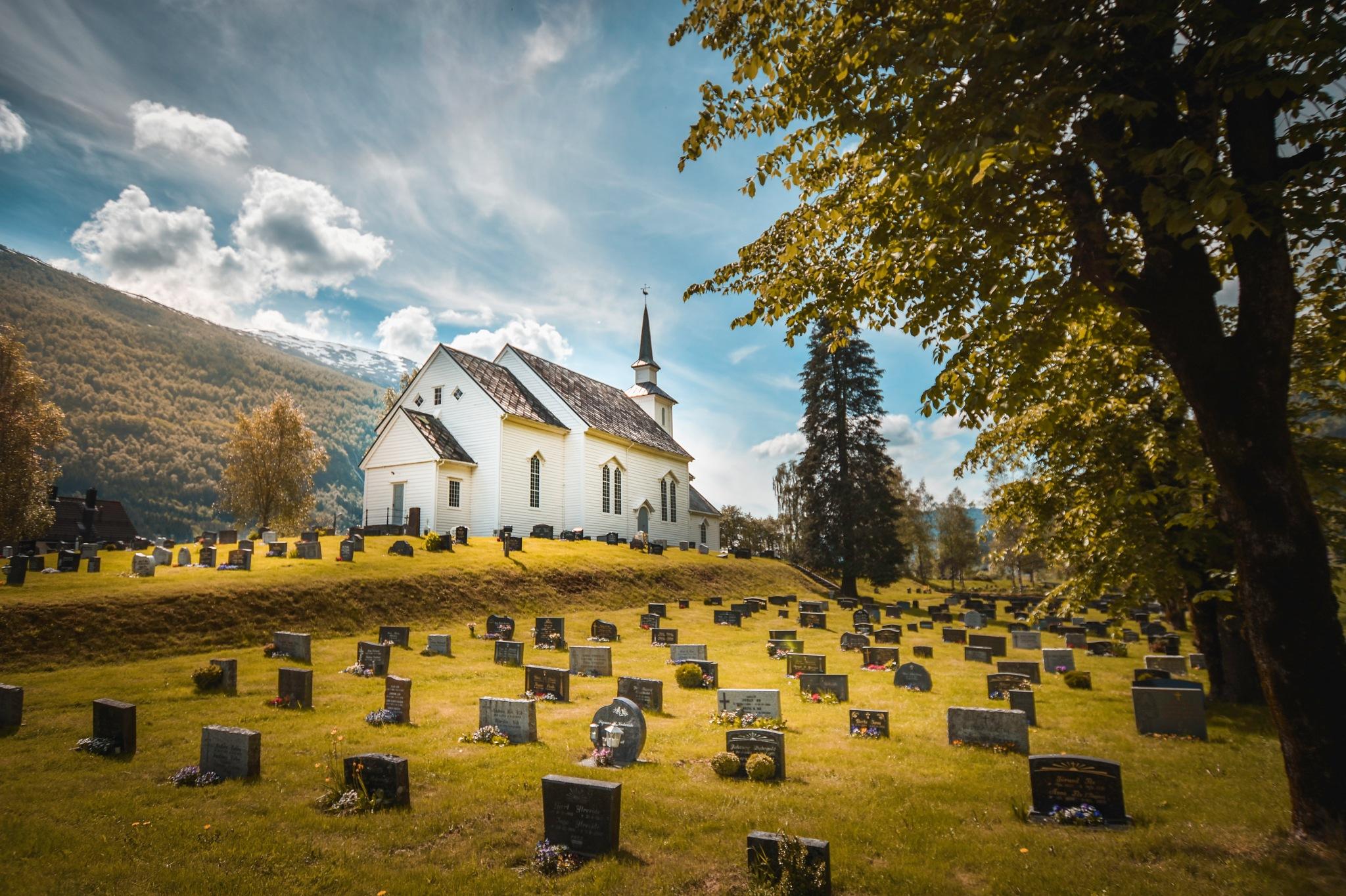 Norwegian Cemetery by Christian Hartmann