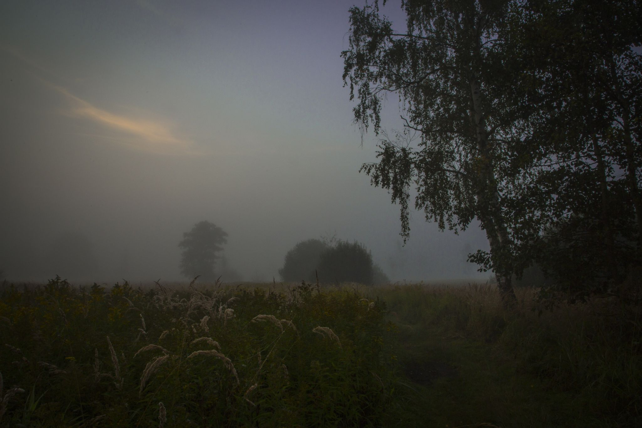 Waiting for the sun by Marcin Kołodziejczyk
