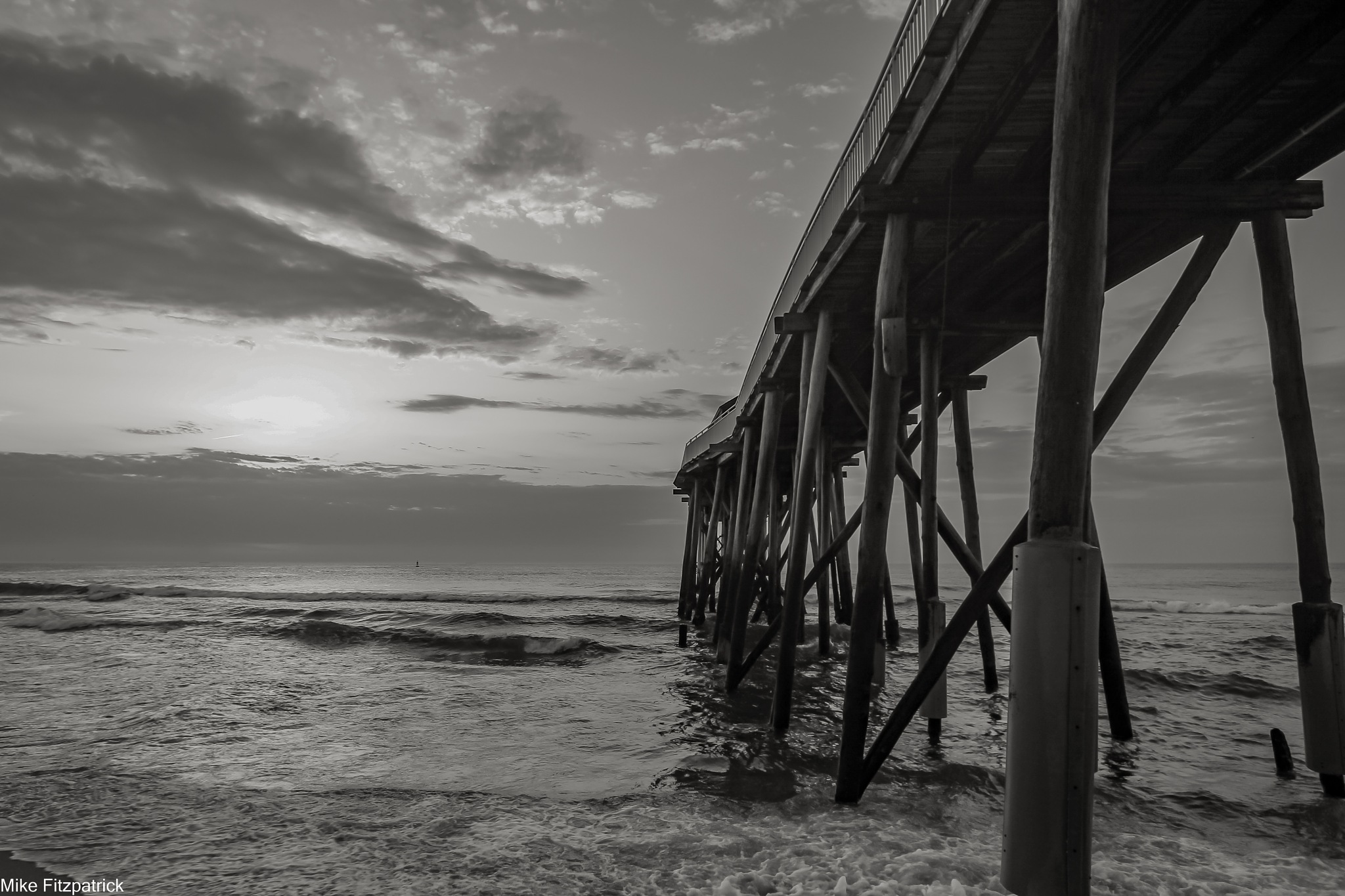 fisihing pier by Fitzpatm