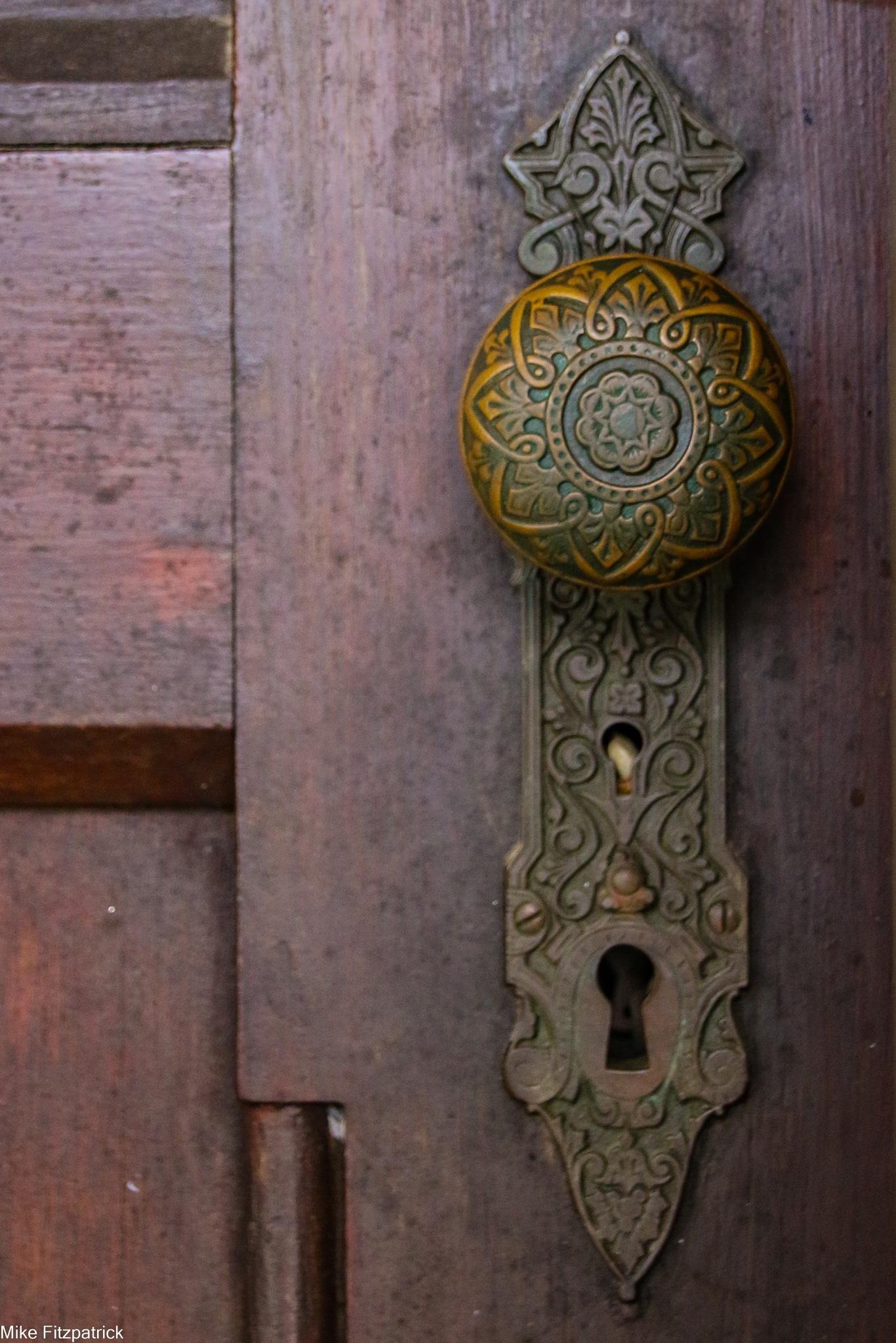 Door knob by Fitzpatm