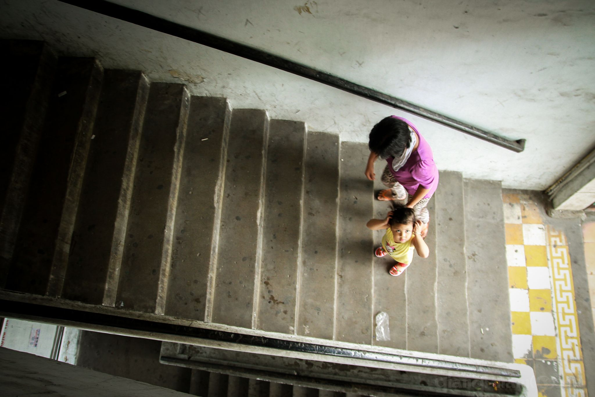 Condo stairs, a Sunday afternoon by gk2102