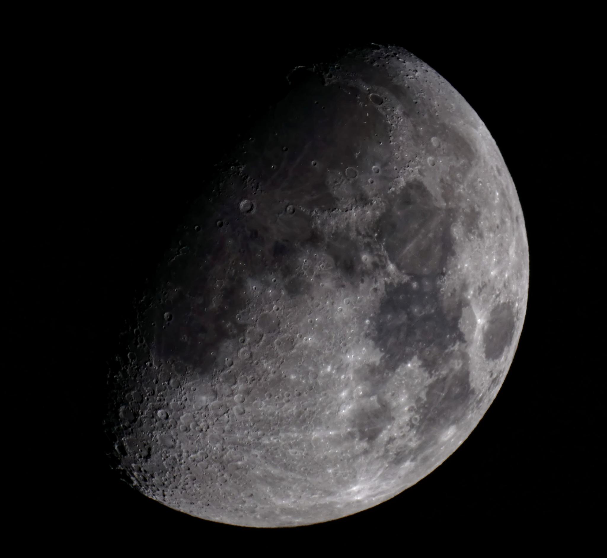 Winter Moon by Michal Lewandowski