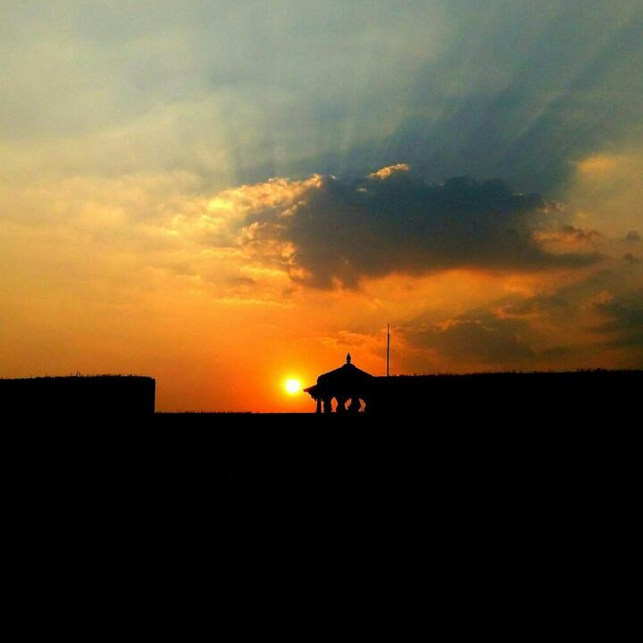 Sunset..Raigad Fort by D Photography