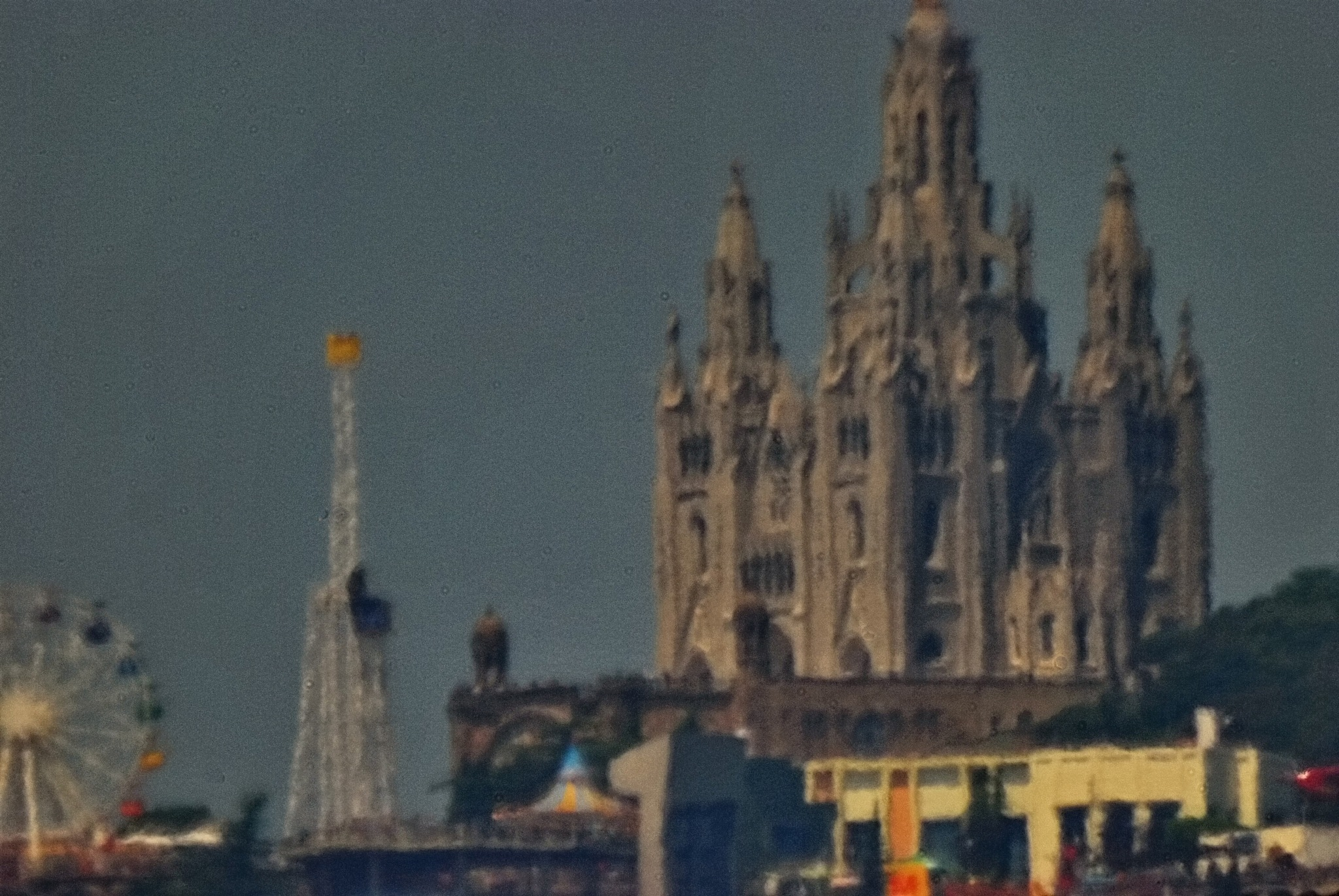 TIBIDABO from Poblenou by Hector Lopez