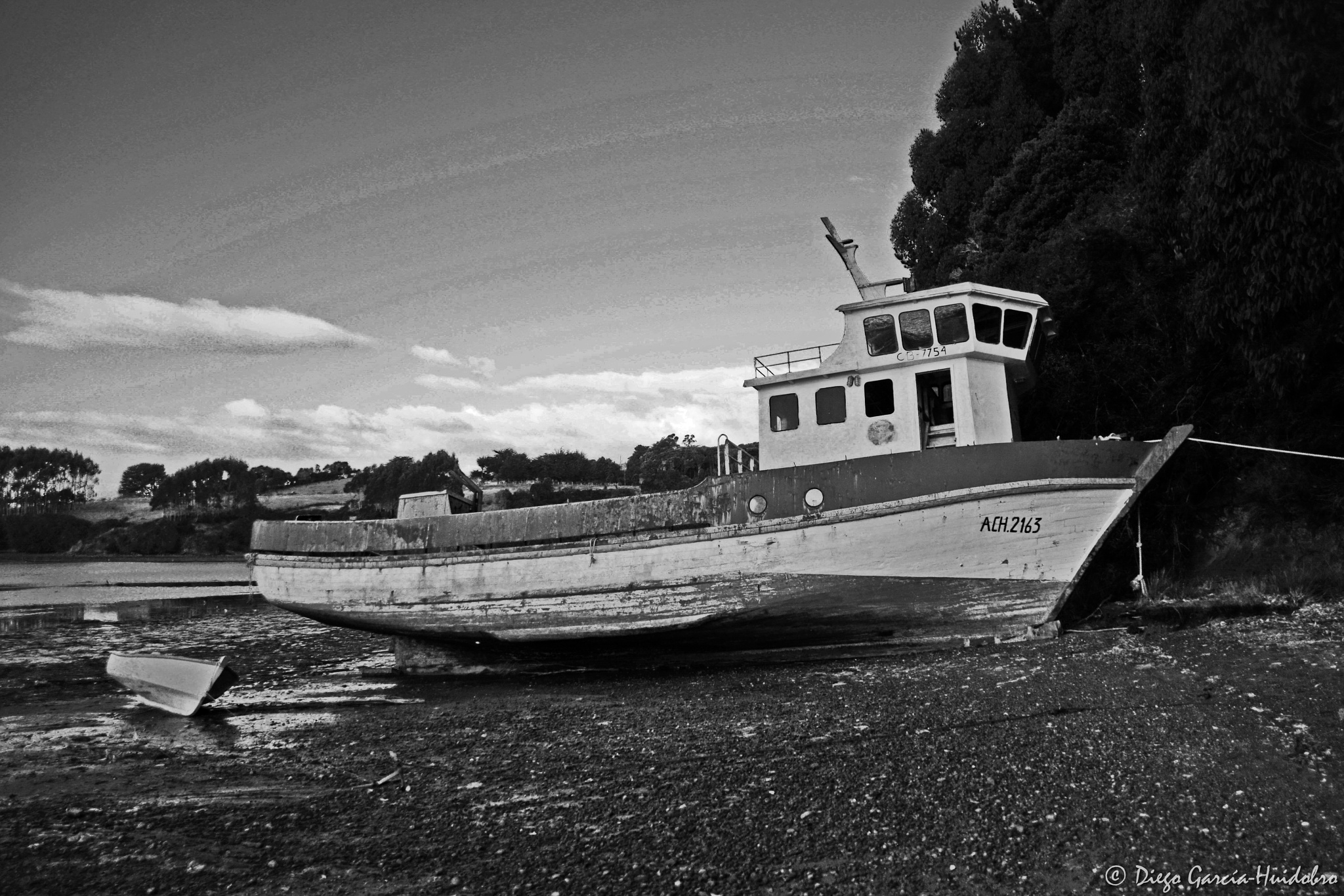 Photo in Black and White #black&white #boat