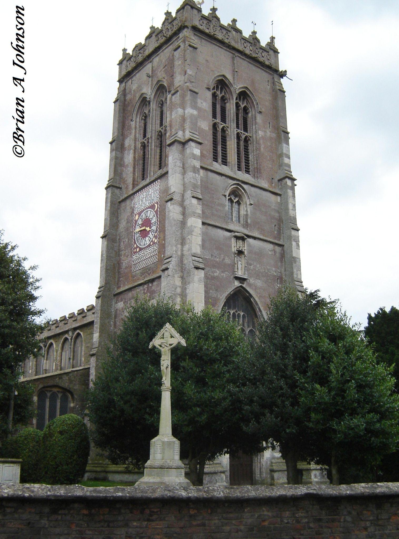 Lincolnshire's churches. by Brian Johnson