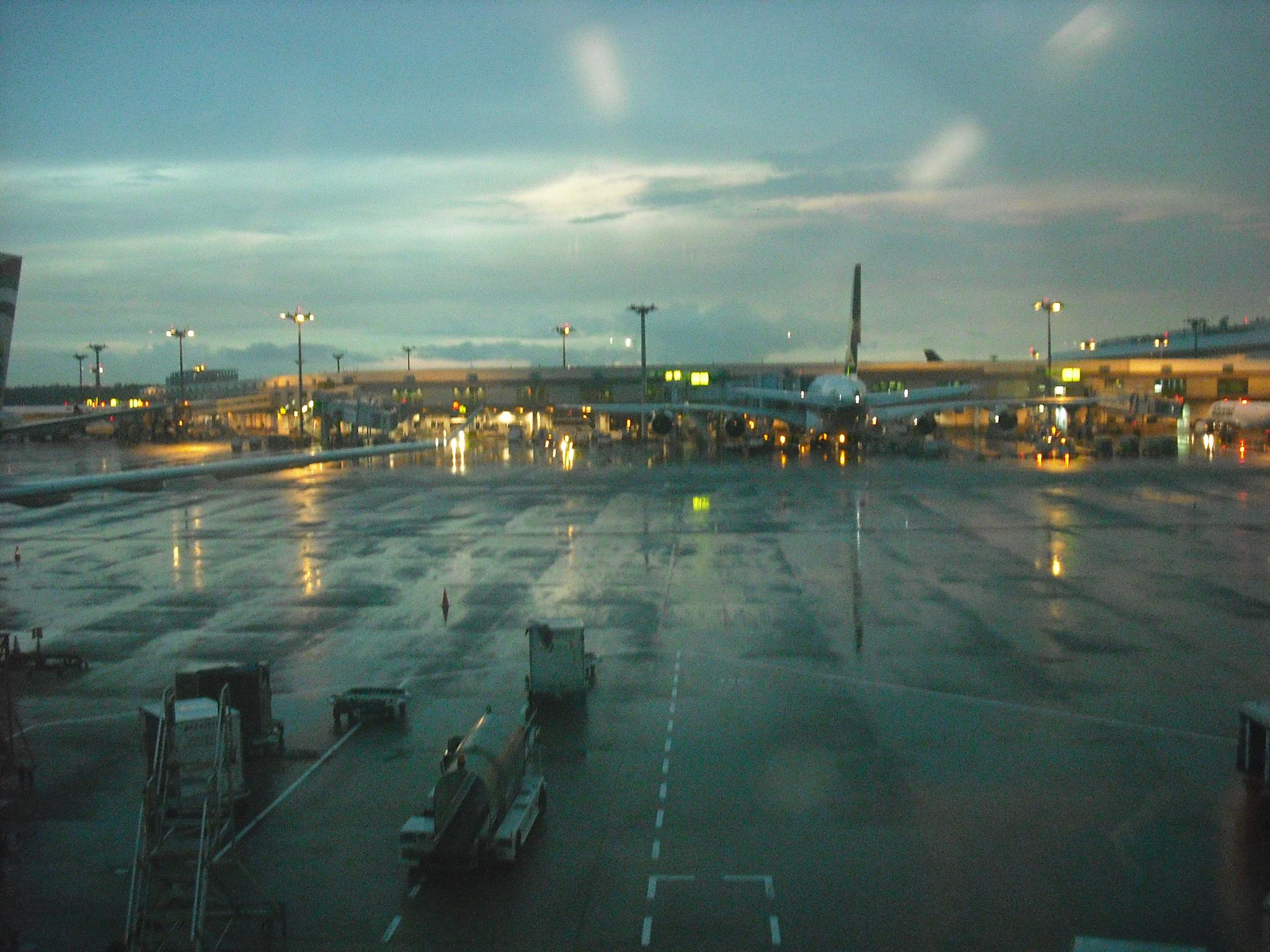 Changi airport by Brian Johnson