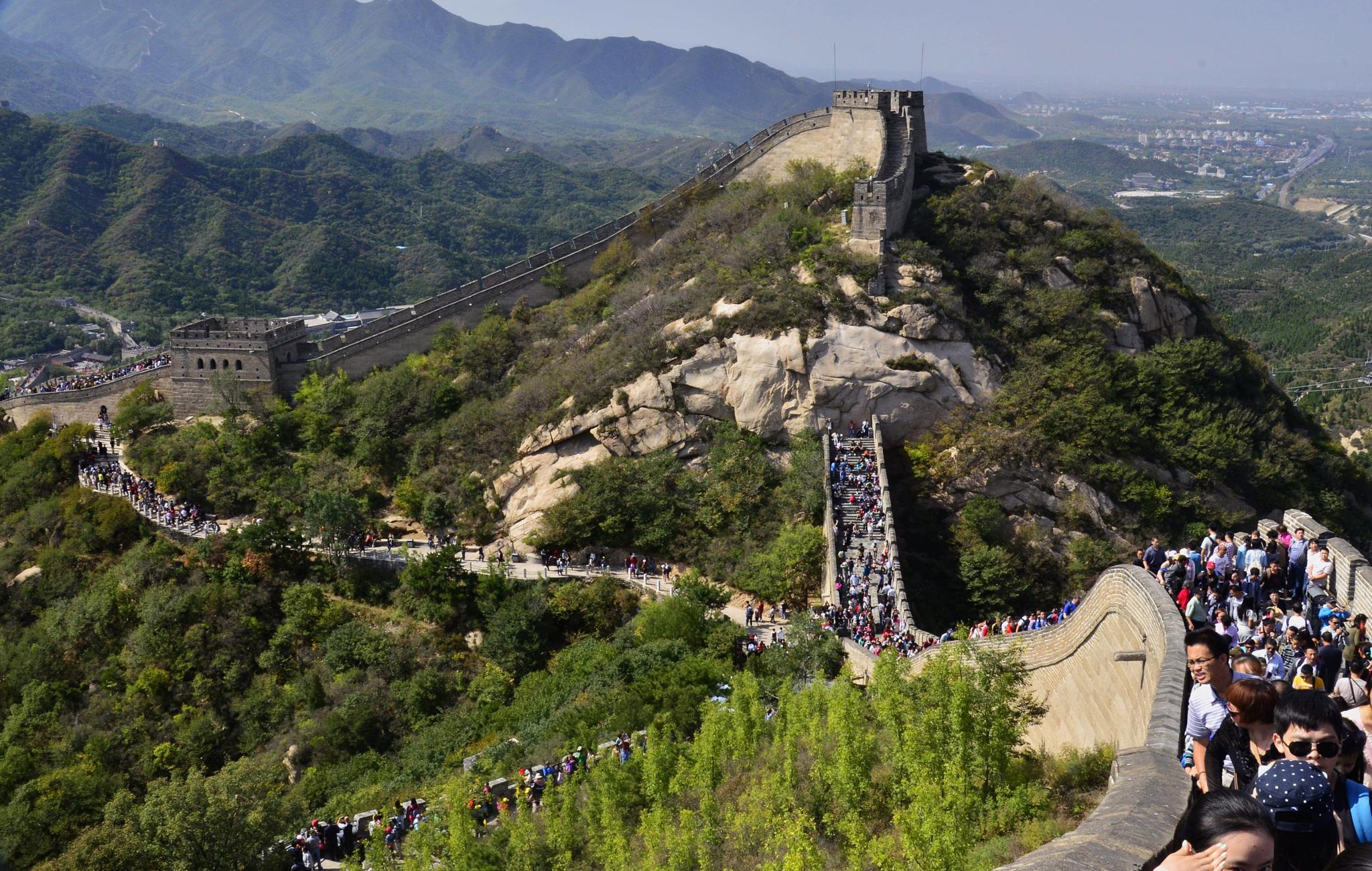 Great Wall of China by Abhijit ChakrabartiThakur